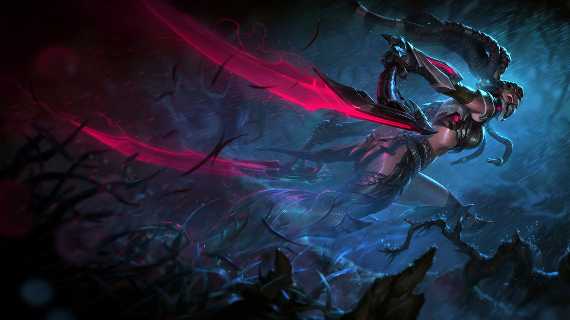 Headhunter Akali wallpaper