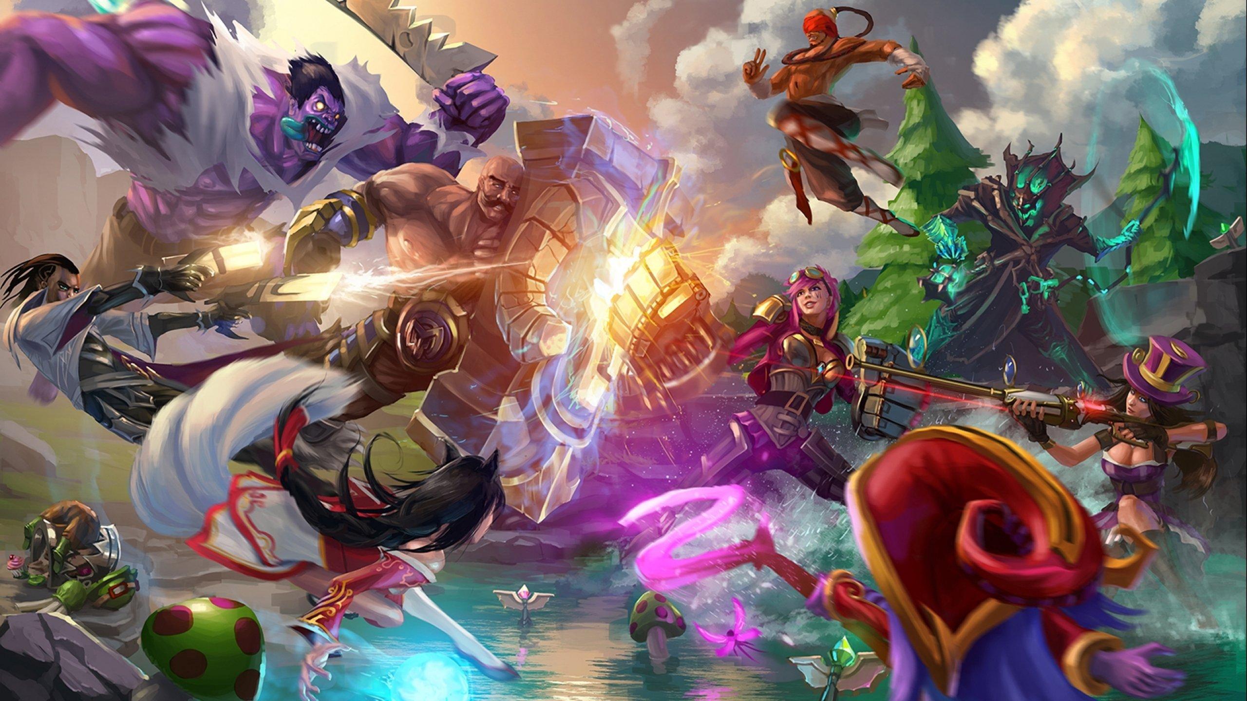 Teamfight wallpaper