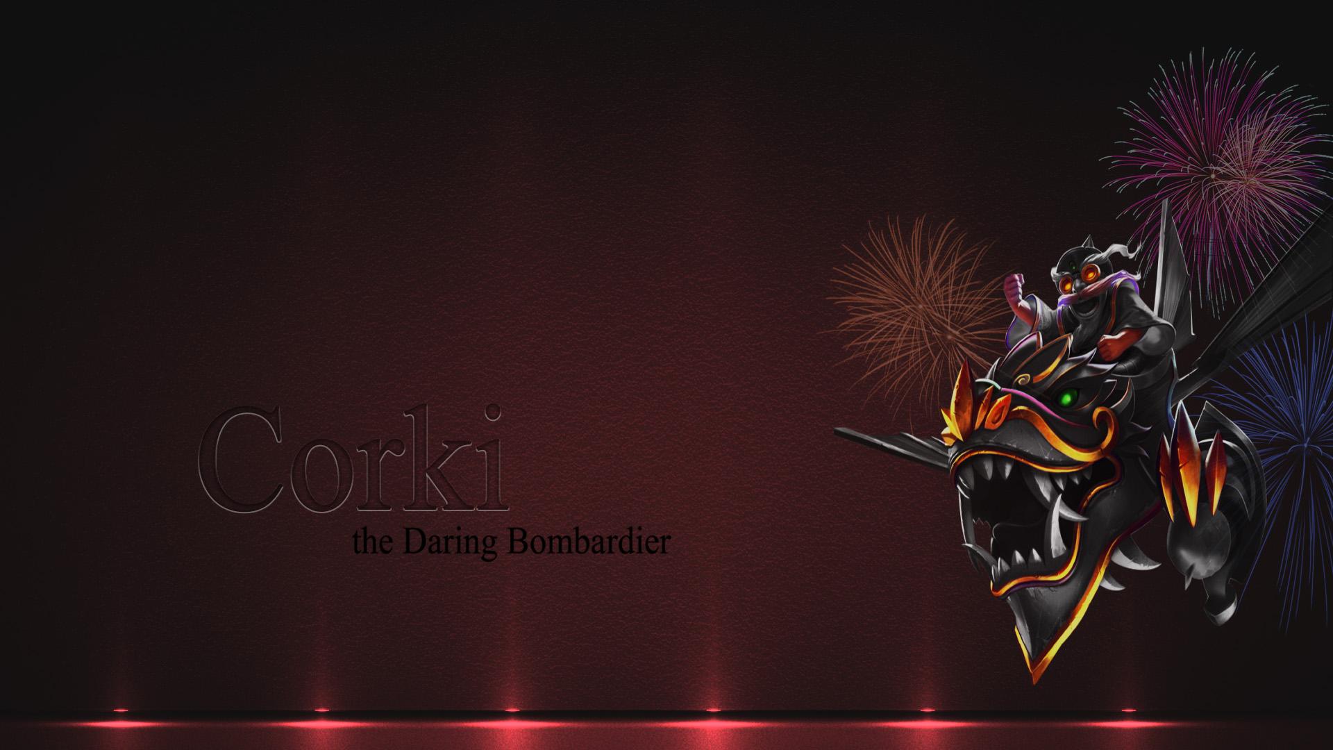 Dragonwing Corki wallpaper