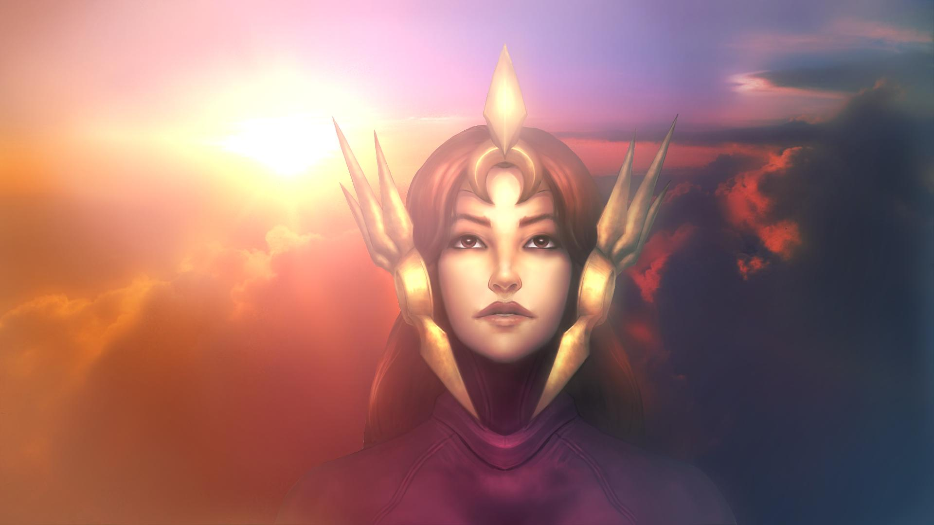 leona wallpaper fan art -#main