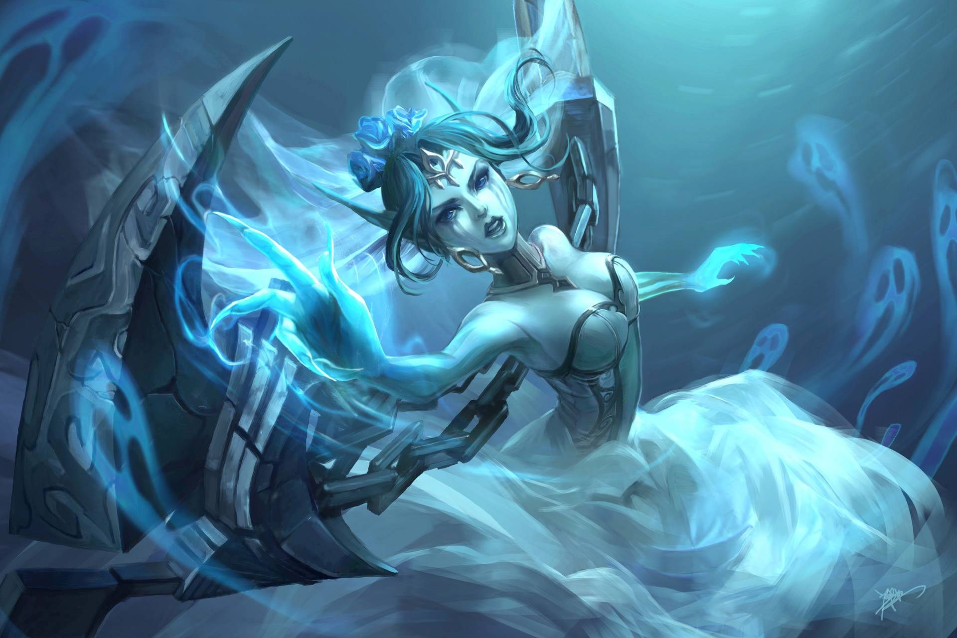 Ghost Bride Morgana wallpaper