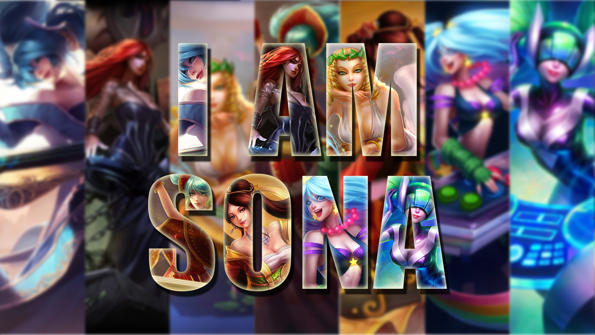 Sona Skins wallpaper