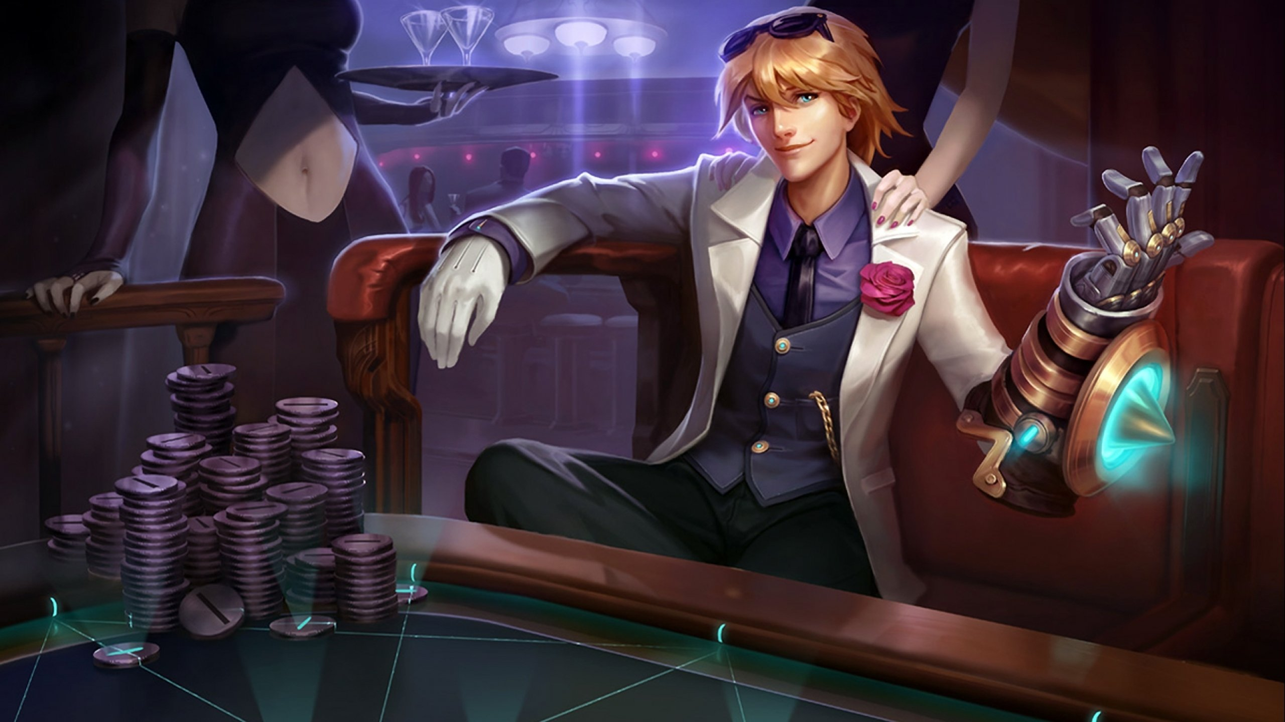 Debonair Ezreal wallpaper