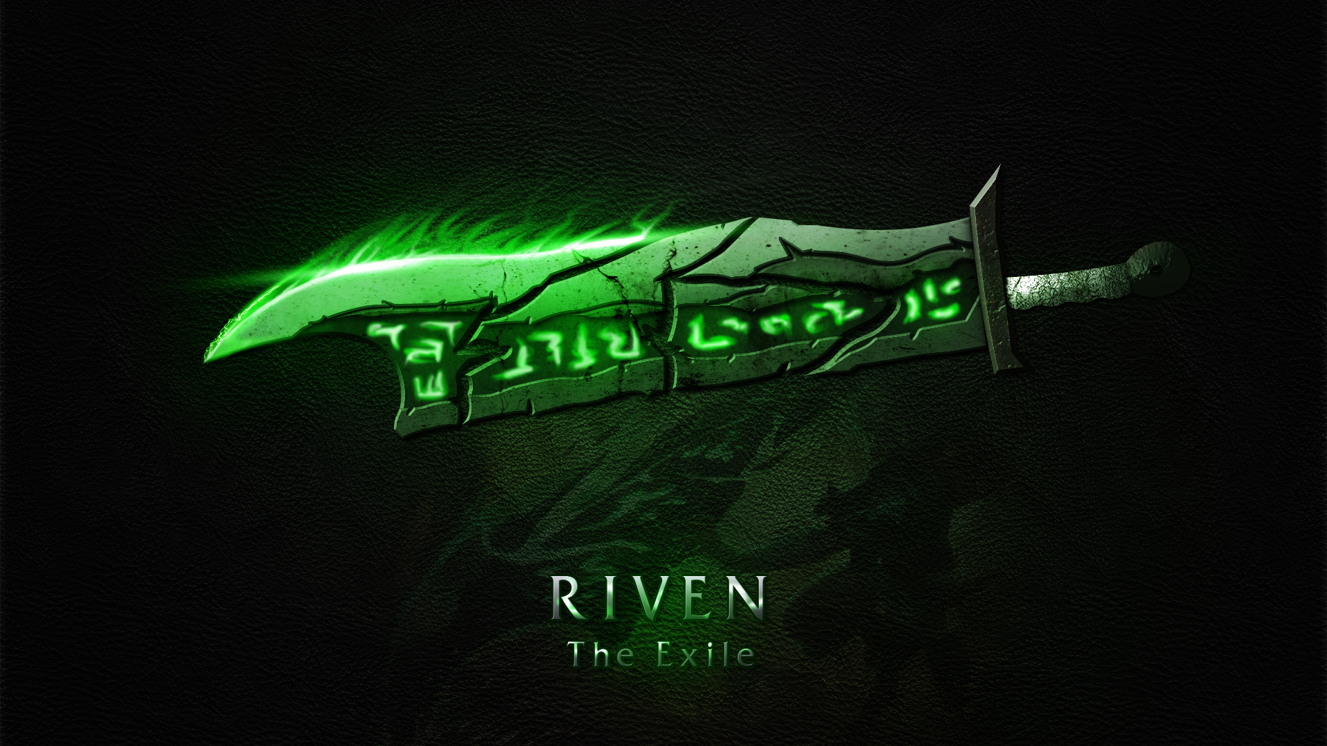 Riven Blade wallpaper