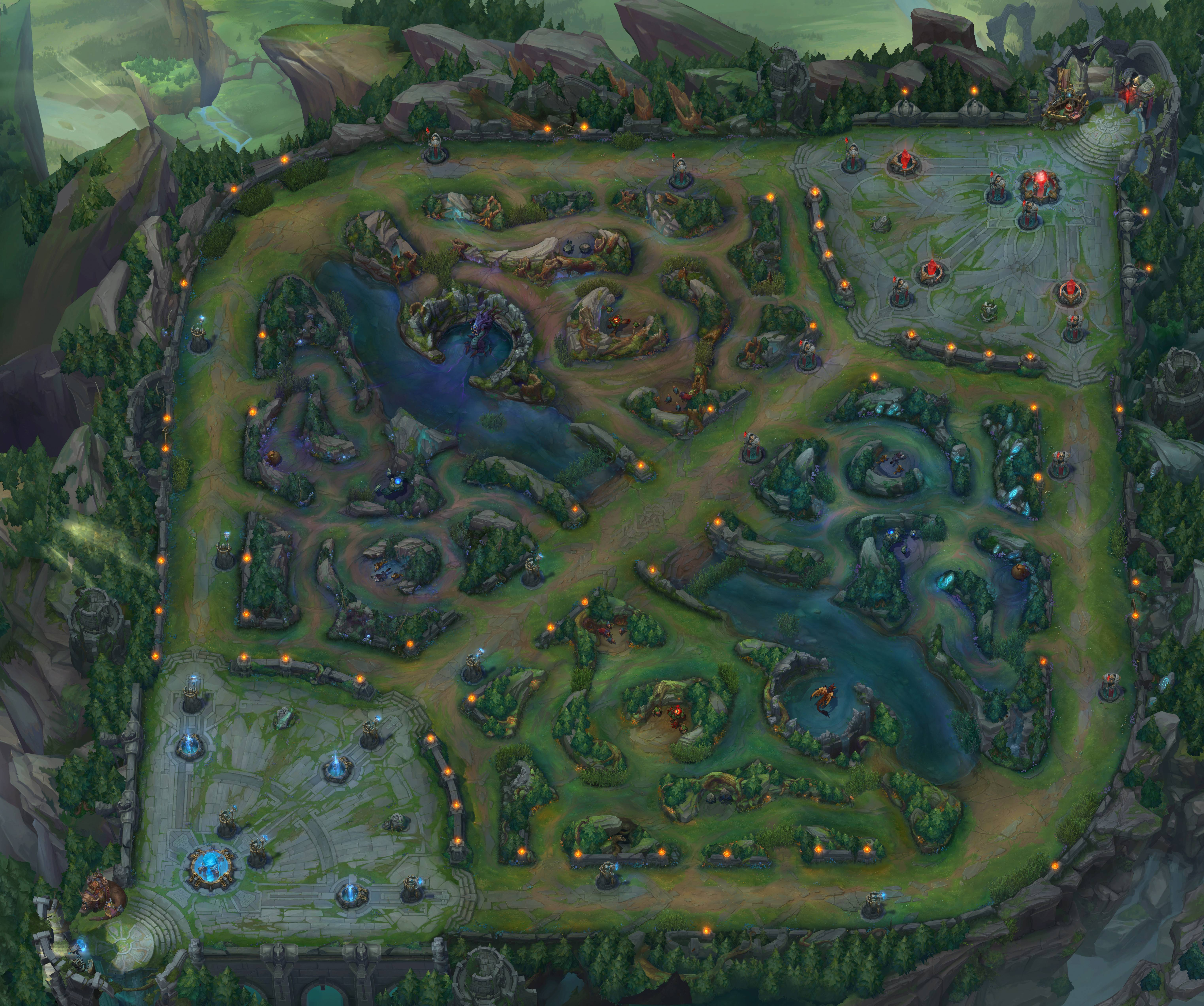 League of Legends Minimap wallpaper