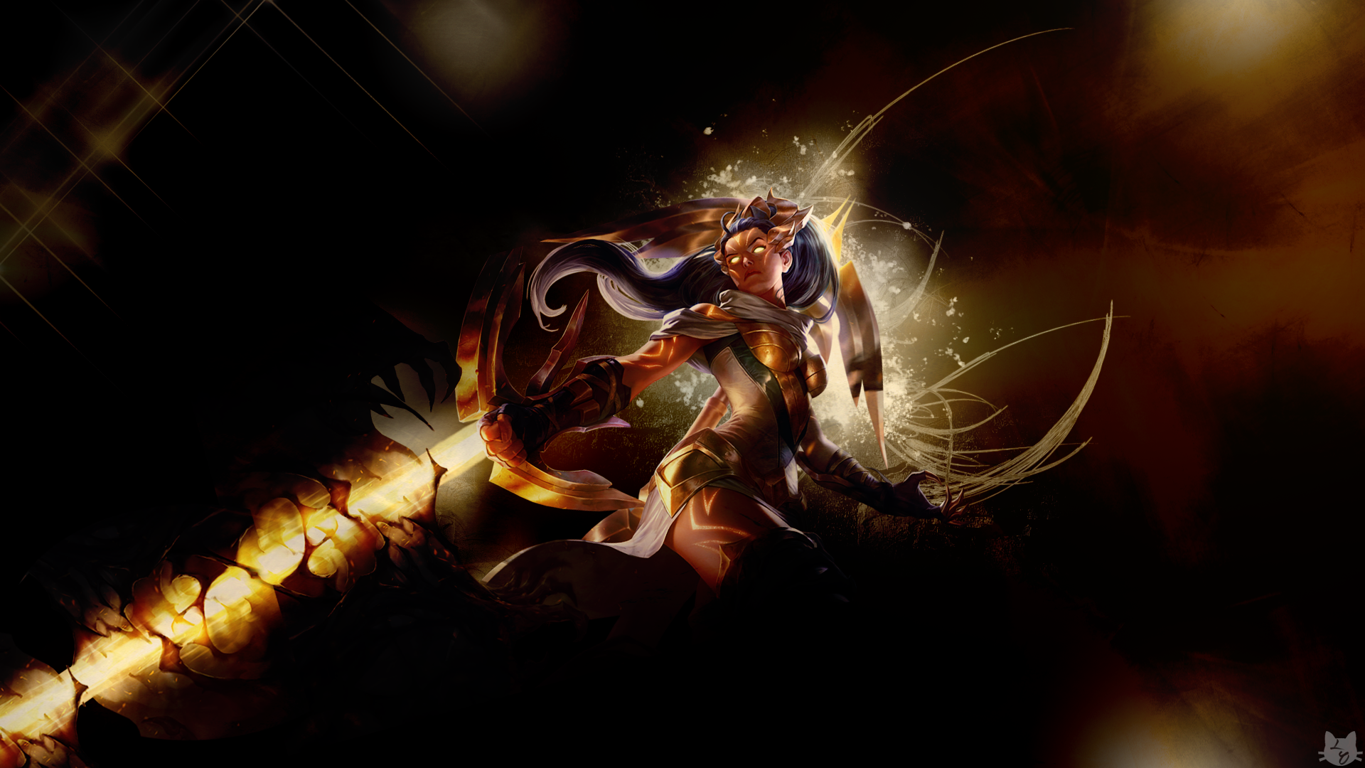 Arclight Vayne - LoLWallpapers