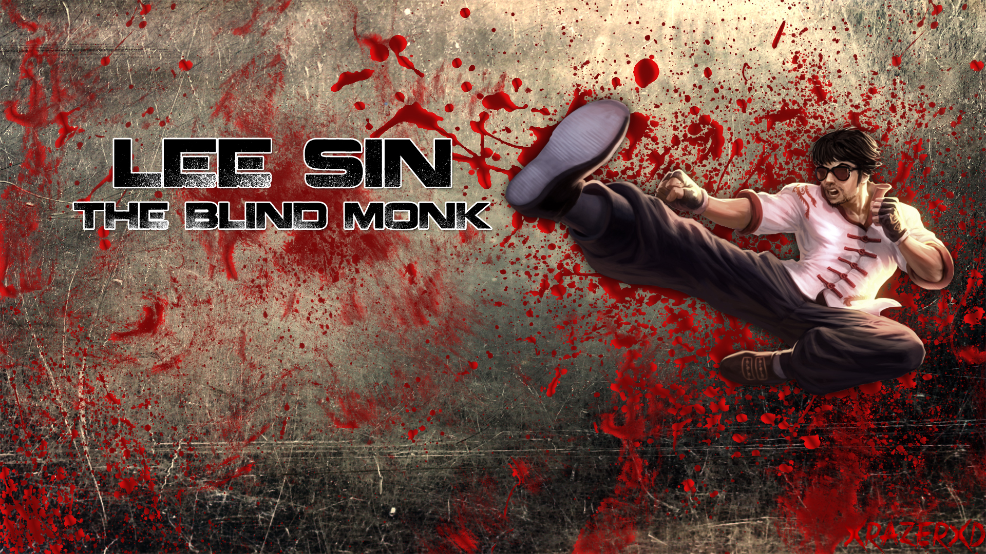 DragonFist Lee Sin wallpaper