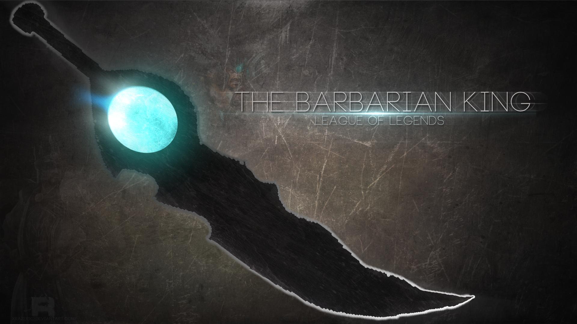The Barbarian King wallpaper