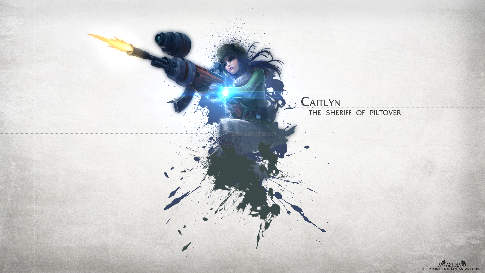Warfare Caitlyn wallpaper