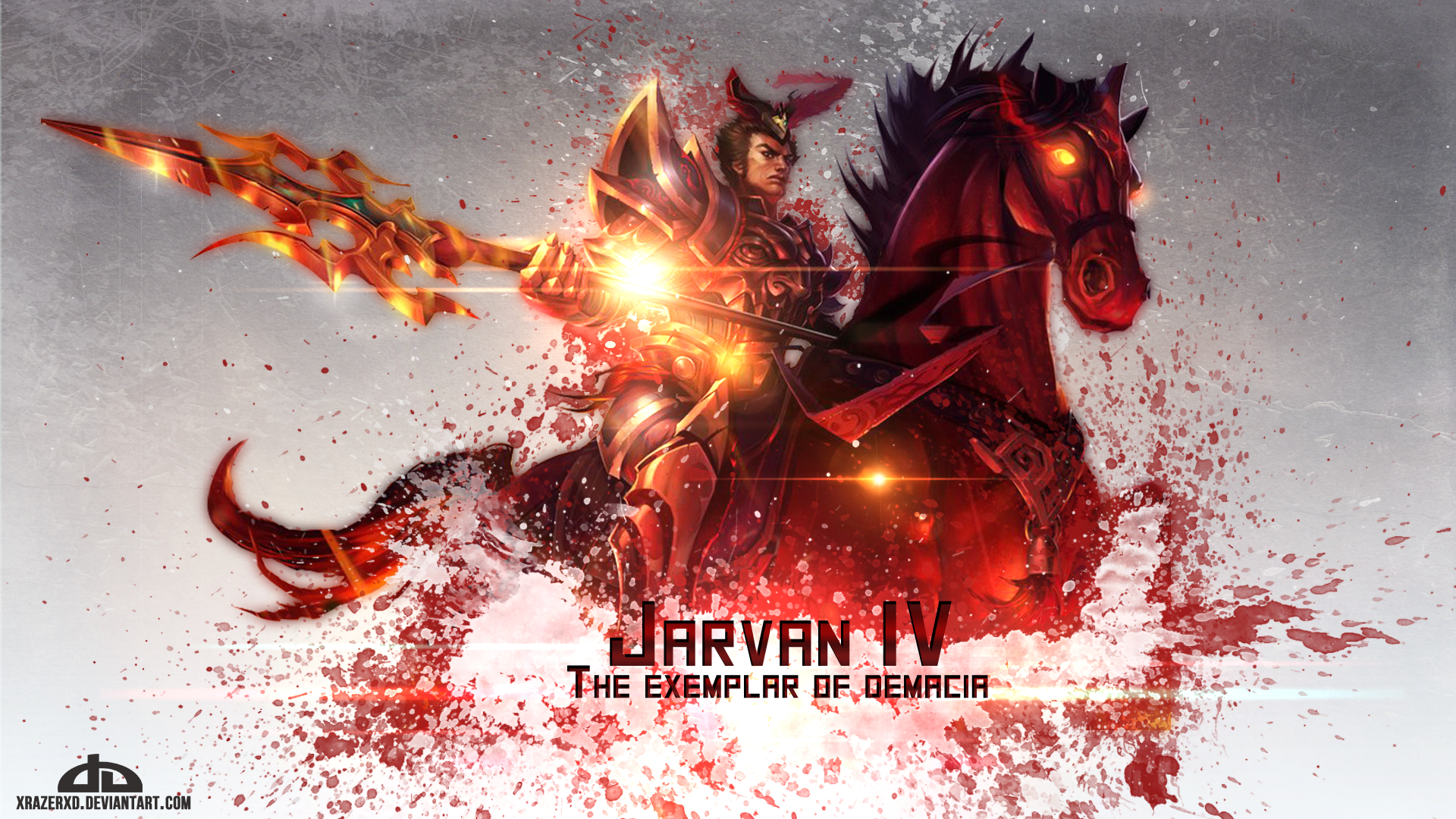 Warring Kingdoms Jarvan IV wallpaper