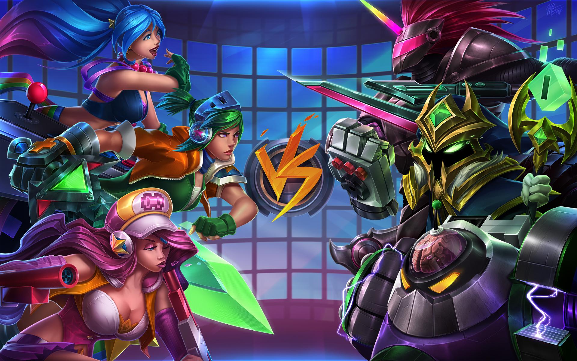 Arcade Battle wallpaper
