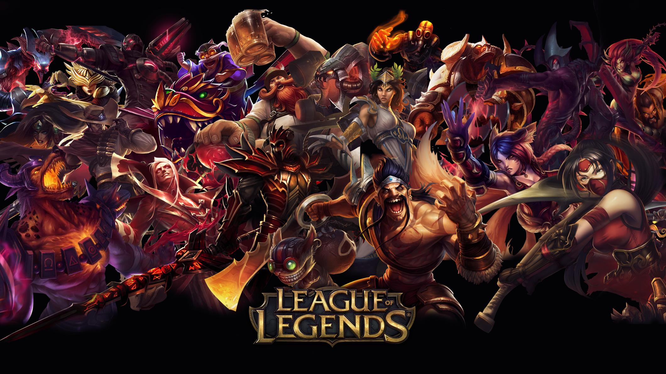 League of Legends Red Wallpaper wallpaper