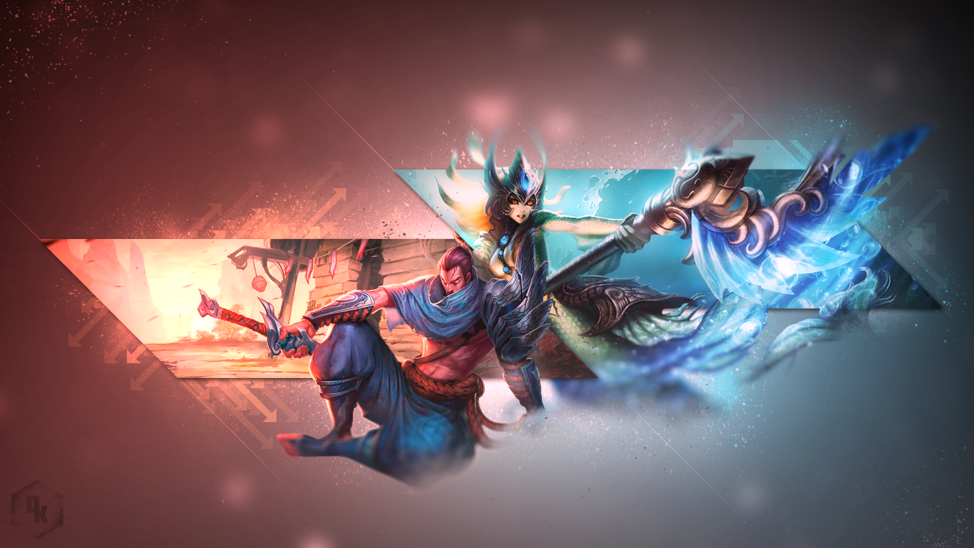 Yasuo & Nami wallpaper