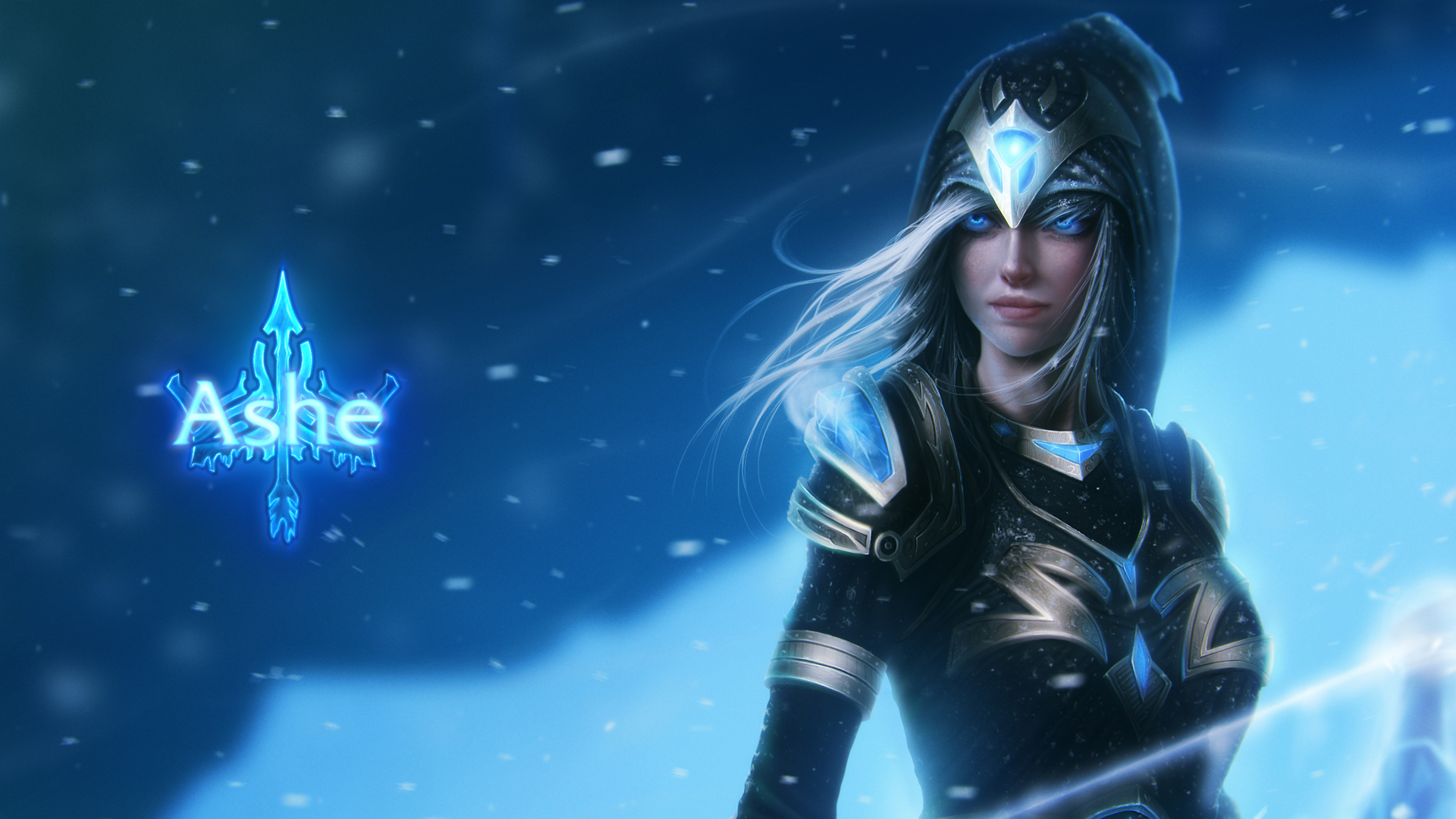 Ashe - LoLWallpapers