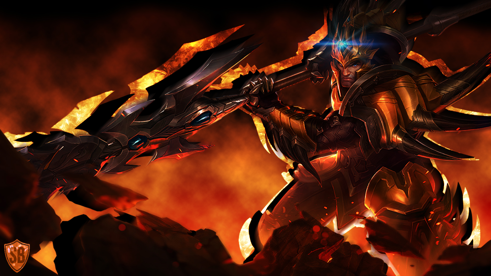 Jarvan IV - LoLWallpapers