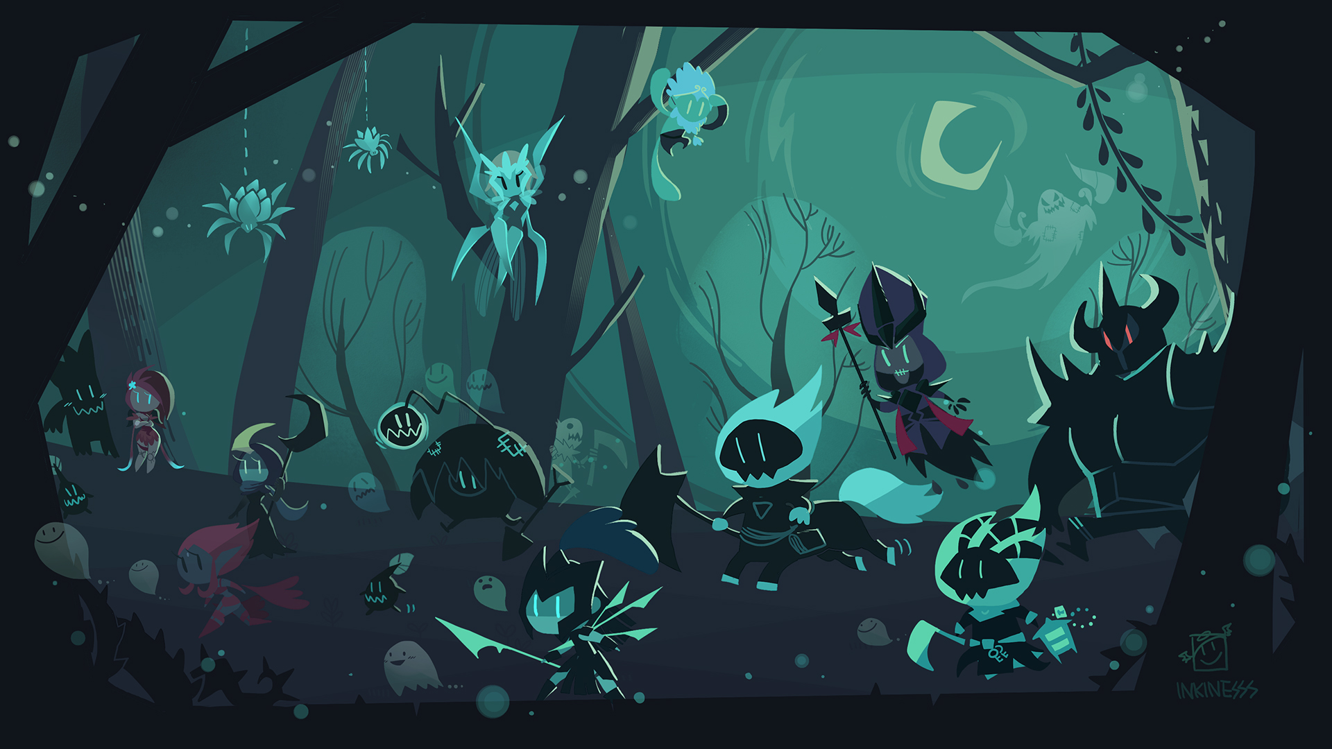 Shadows Isles wallpaper