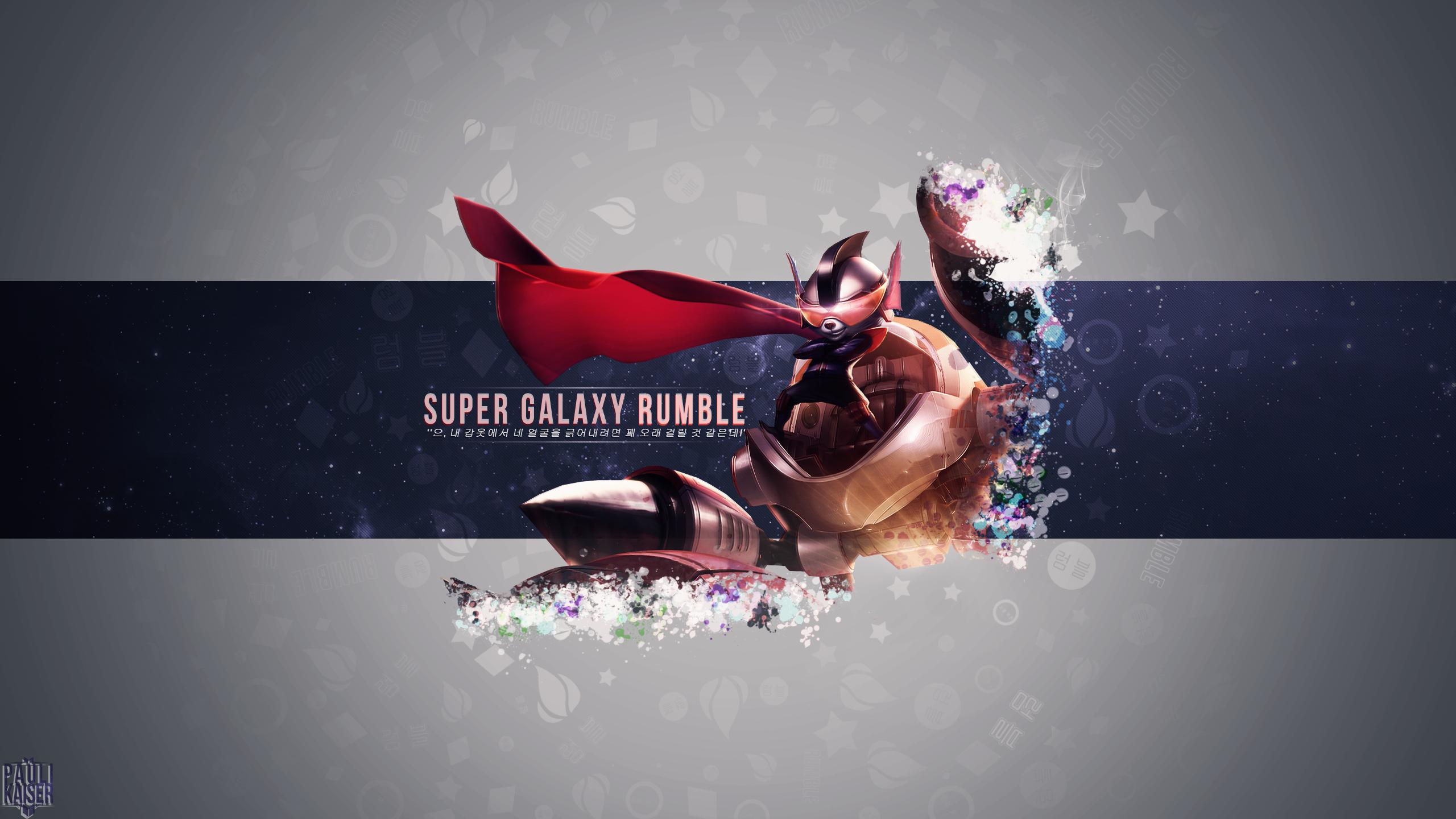 Super Galaxy Rumble wallpaper