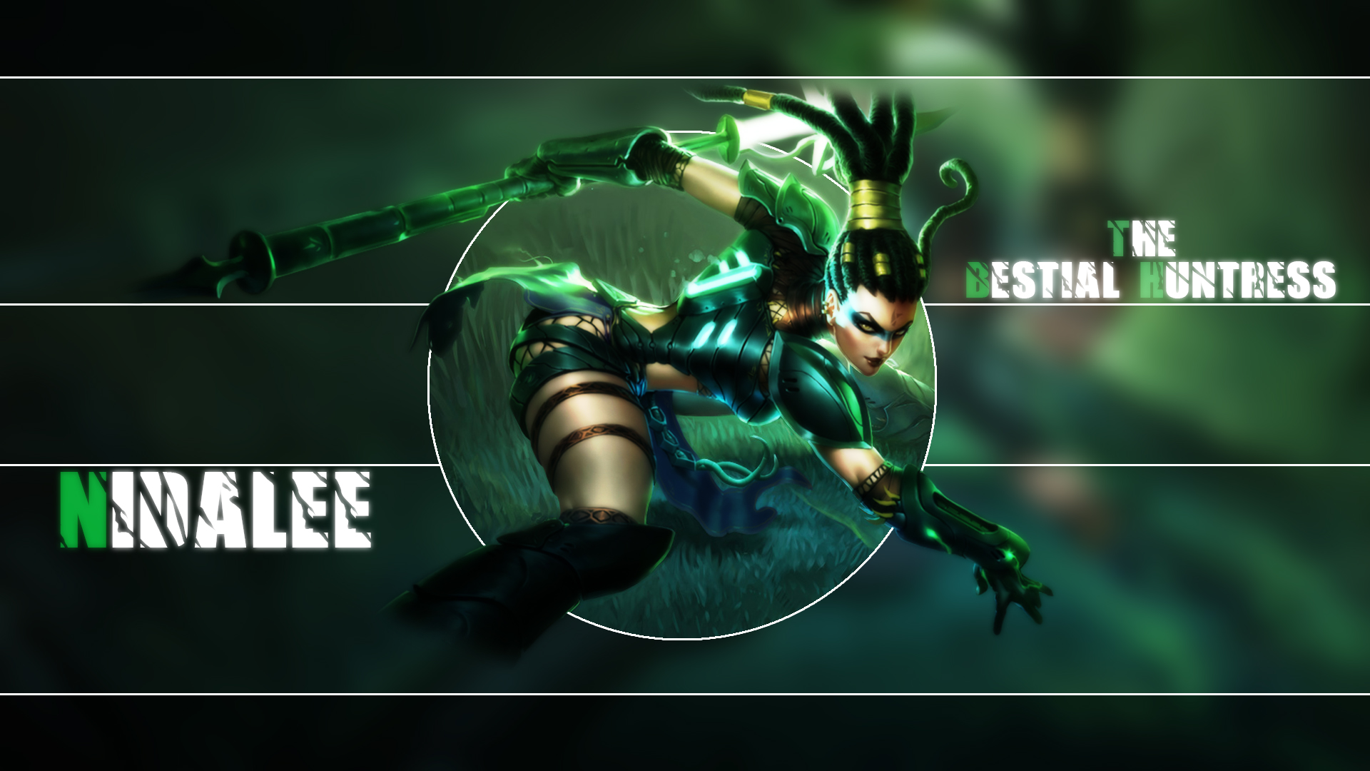 Headhunter Nidalee wallpaper