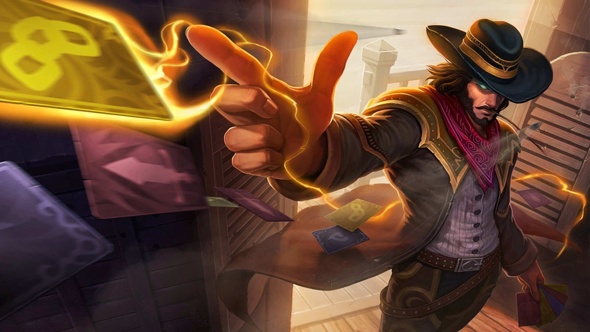 High Noon Twisted Fate wallpaper
