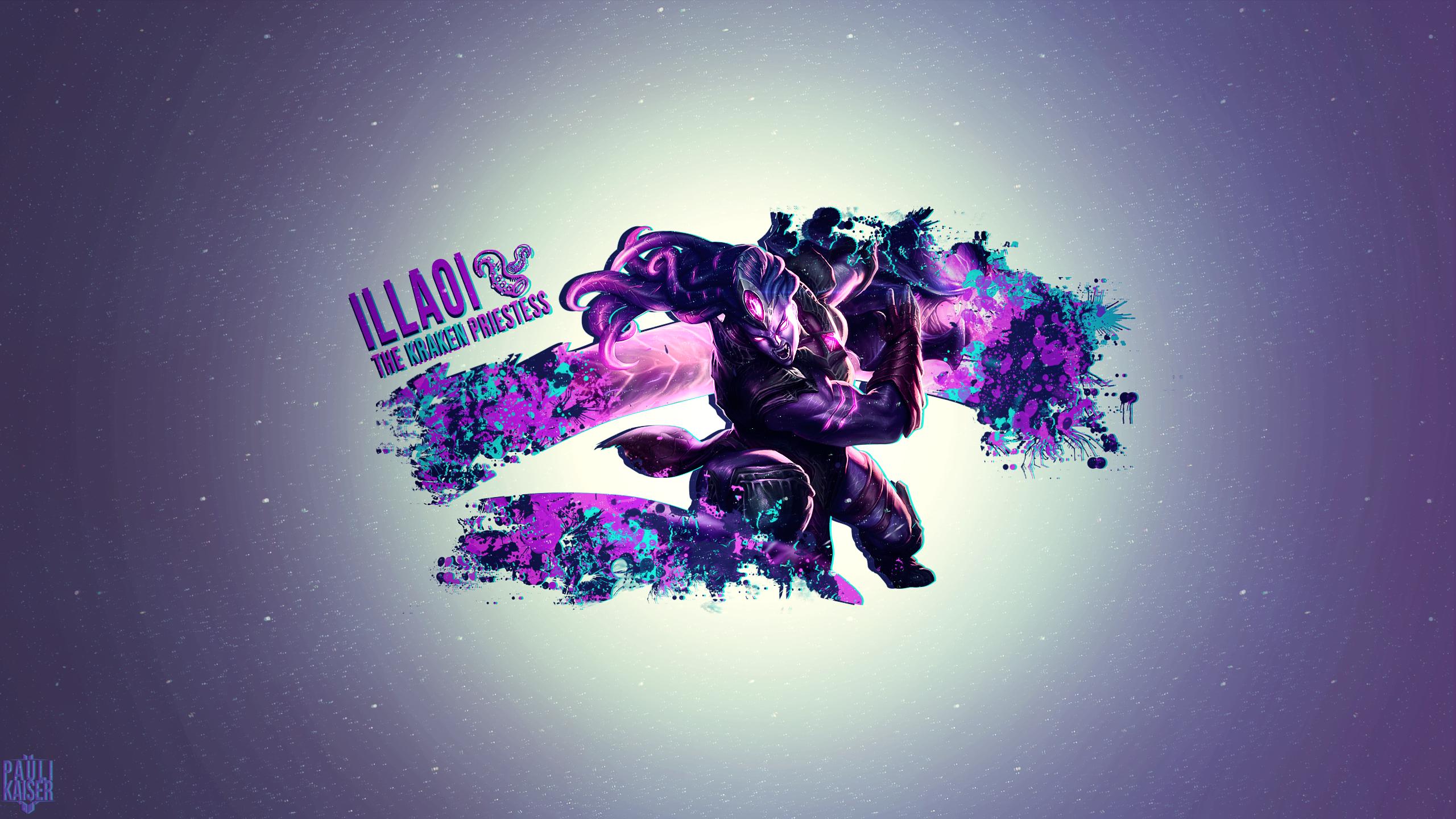 Void Bringer Illaoi wallpaper
