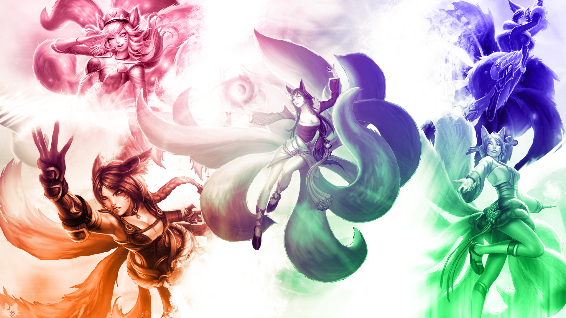 Ahri Skins wallpaper