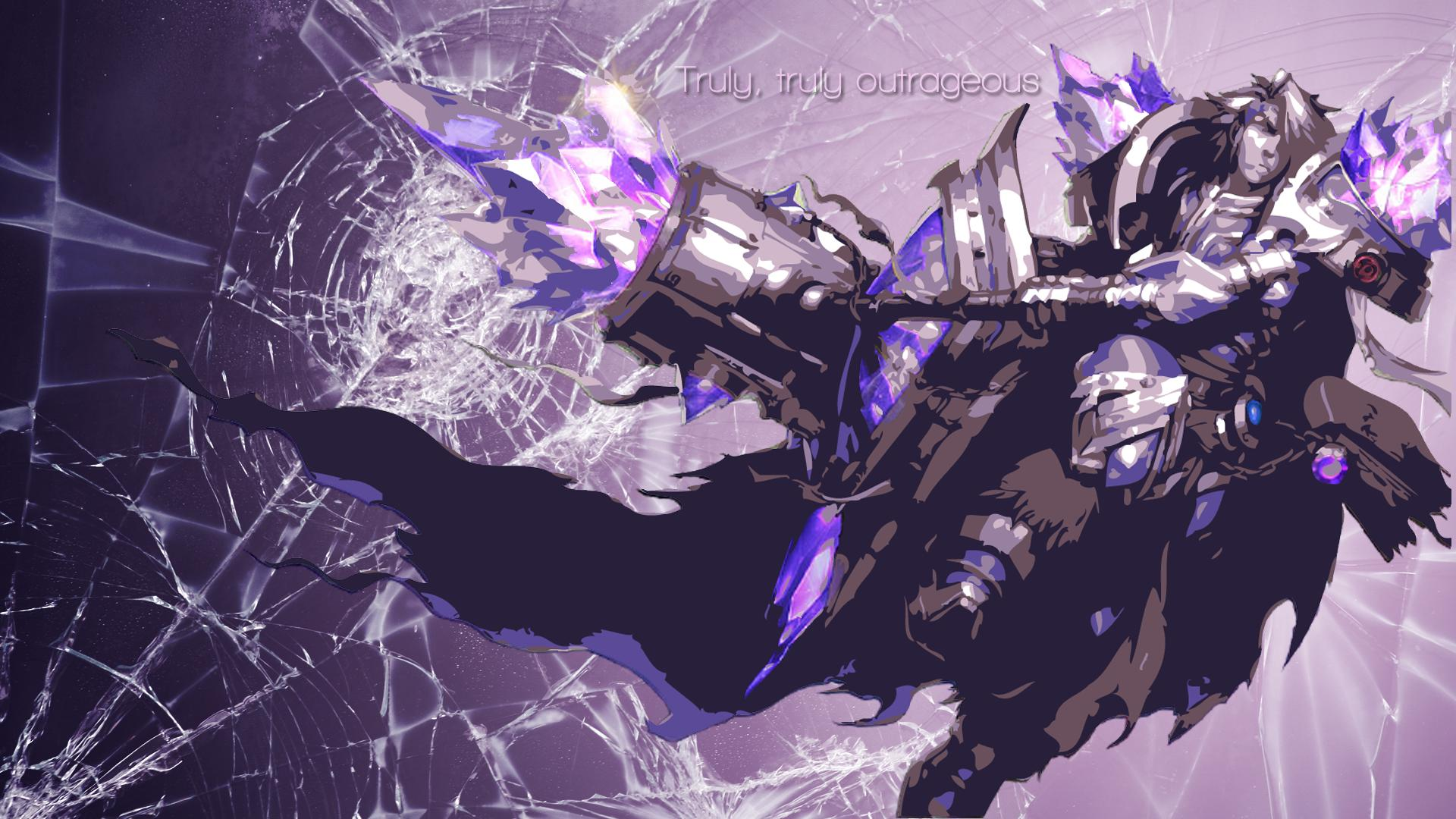 Armor of the Fifth Age Taric Minimalistic wallpaper