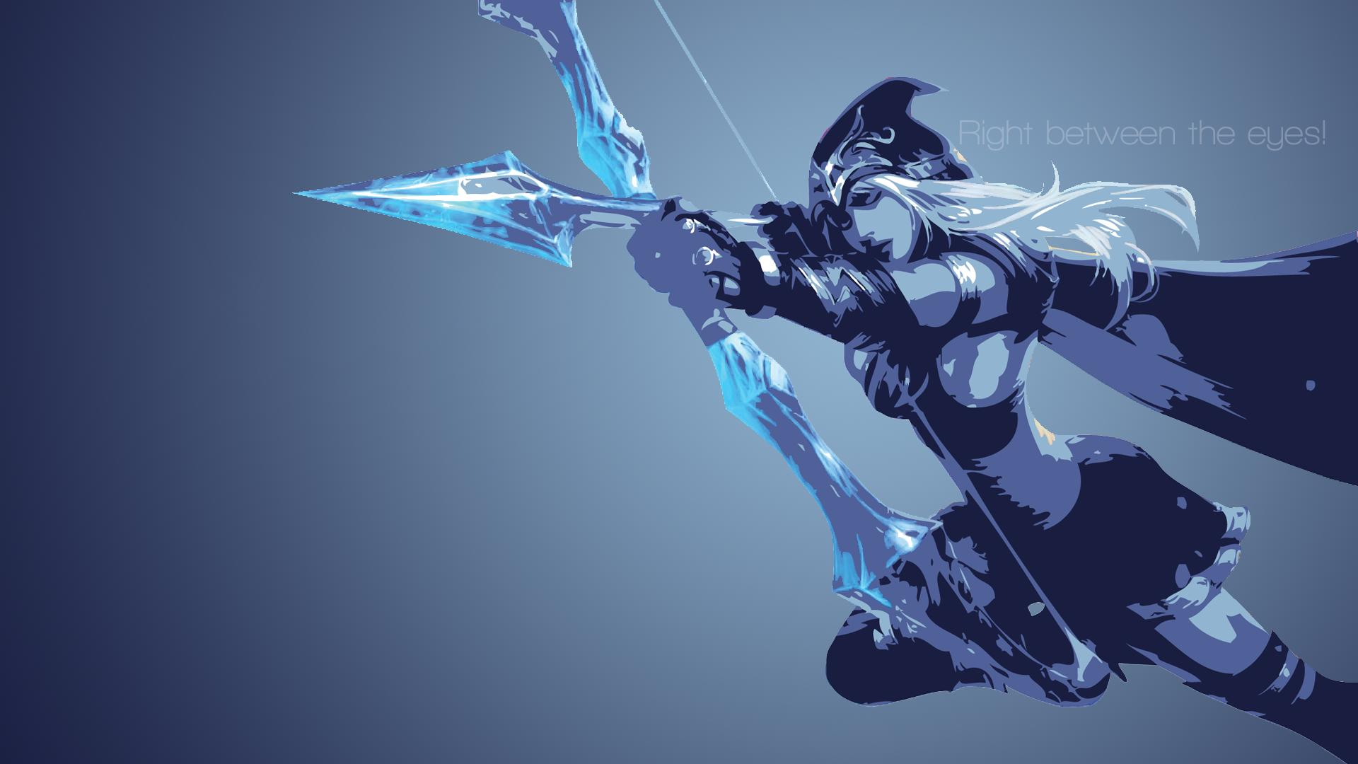 Ashe Minimalistic wallpaper