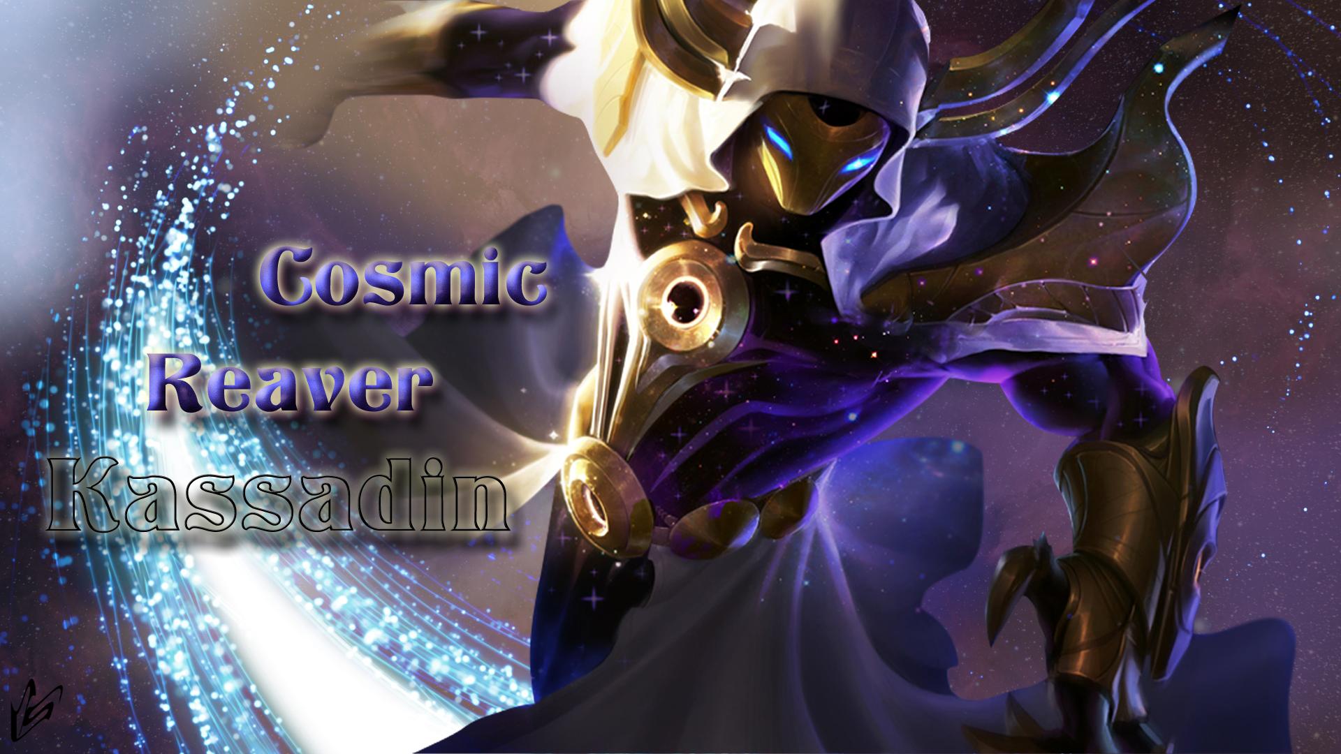 Cosmic Reaver Kassadin wallpaper
