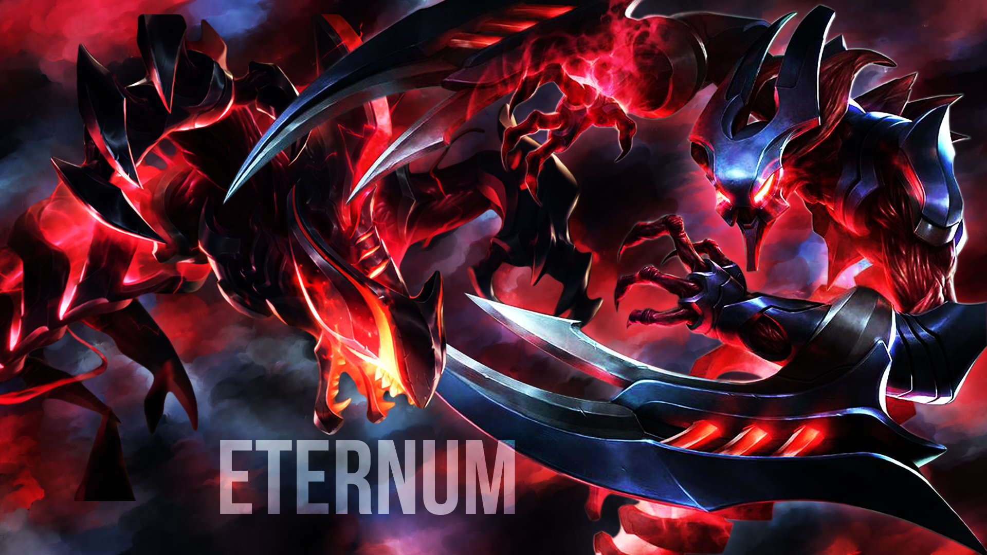 Eternum Rek'Sai & Eternum Nocturne wallpaper