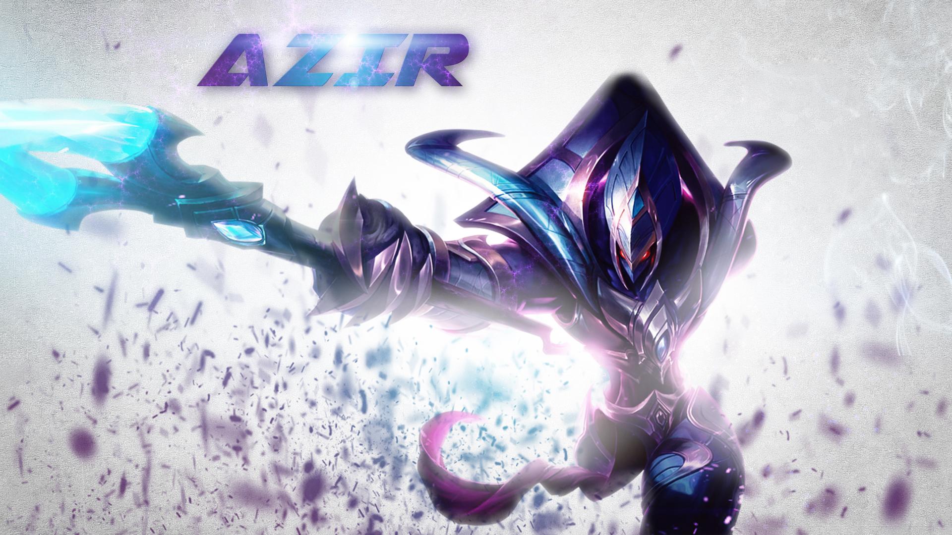 Galactic Azir wallpaper