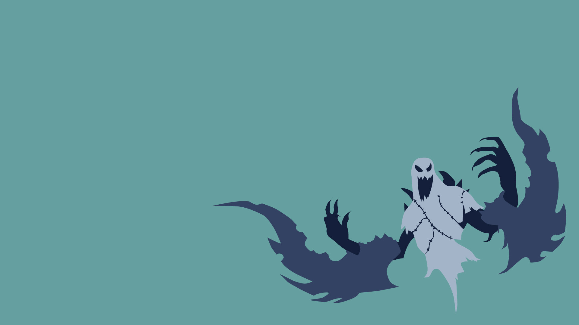 Haunted Nocturne Minimalistic - LoLWallpapers
