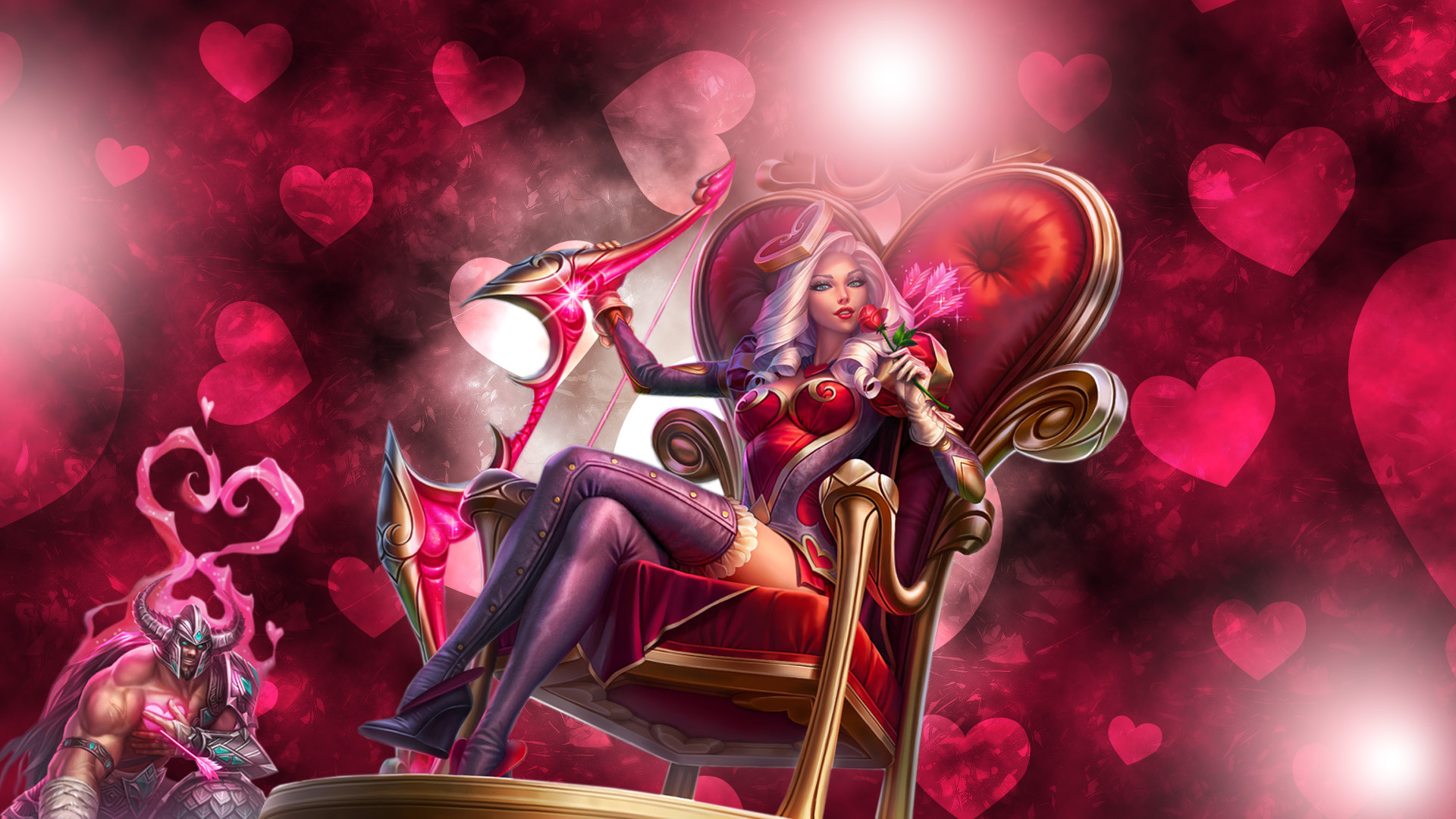 Heartseeker Ashe - LoLWallpapers