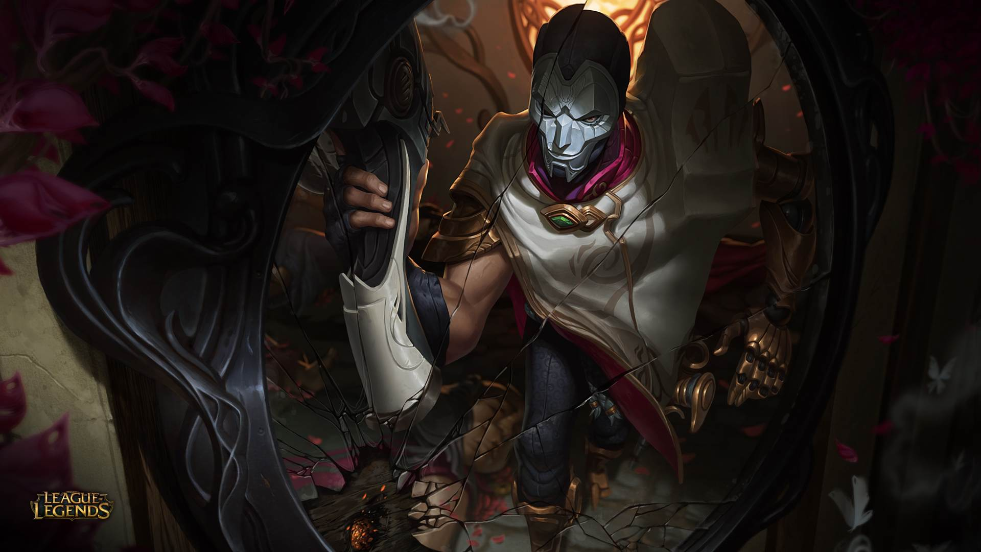 Jhin Splah Art wallpaper