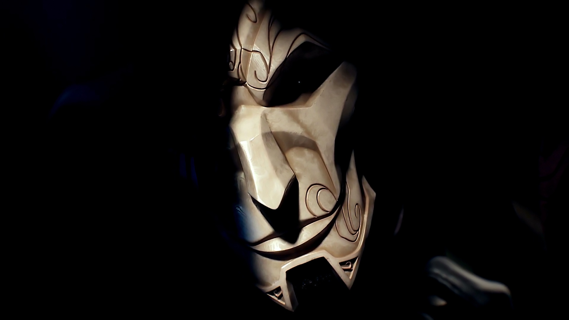 Jhin's Mask wallpaper