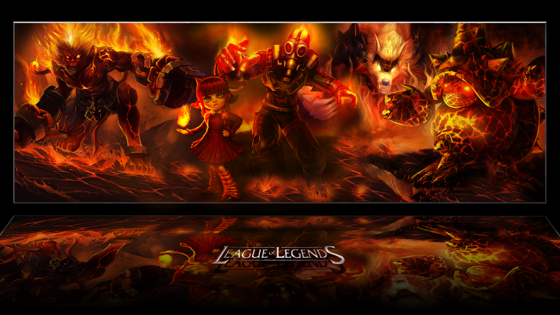 League Of Legends Fire Lolwallpapers