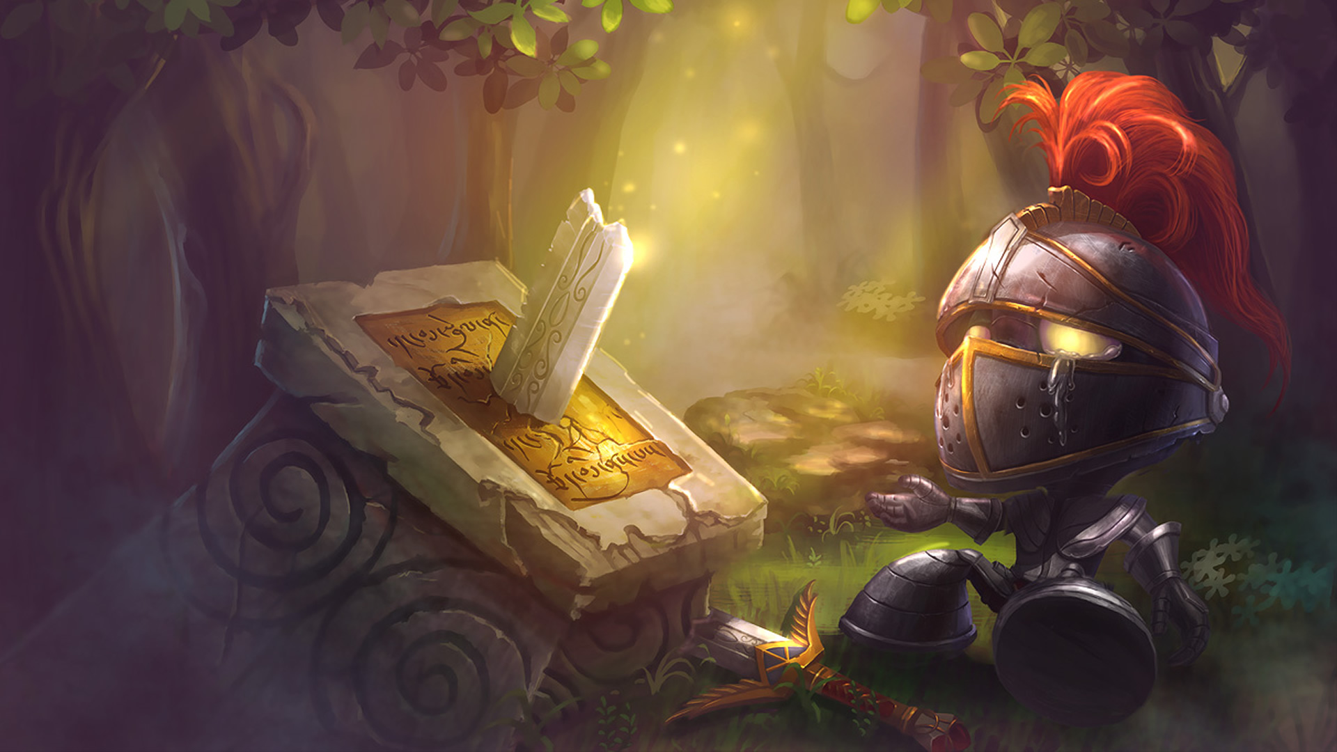 Little Knight Amumu wallpaper