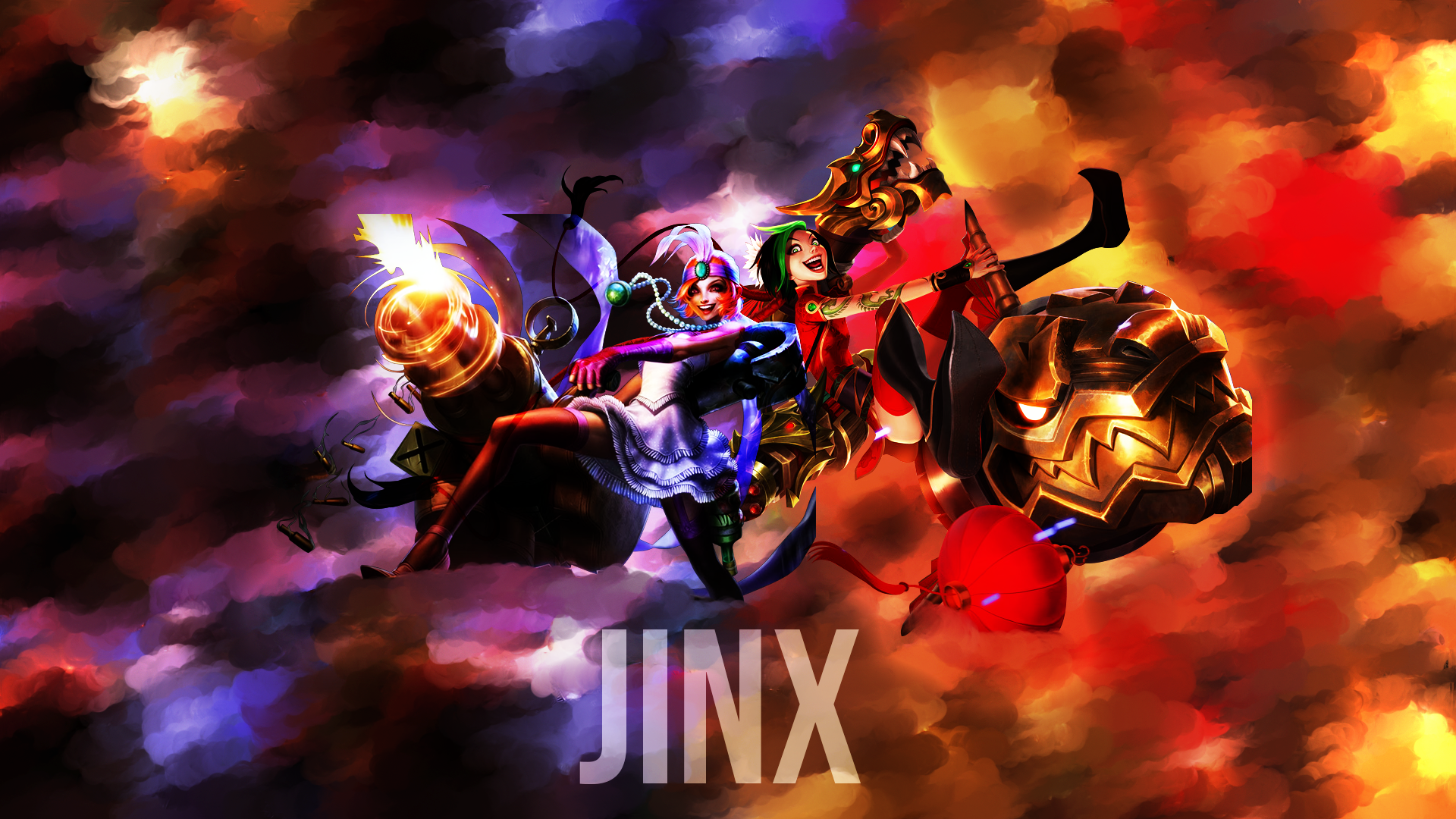 Mafia & Firecracker Jinx wallpaper