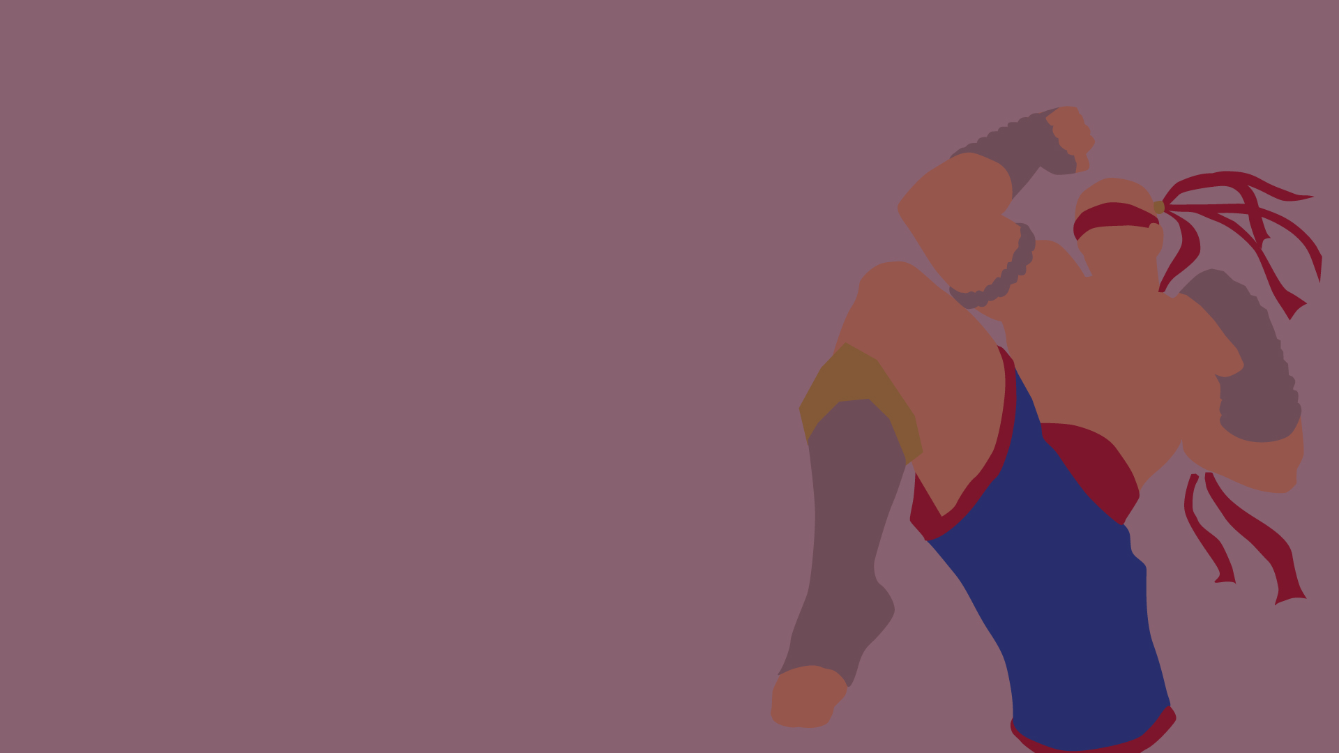 Muay Thai Lee Sin Minimalistic wallpaper