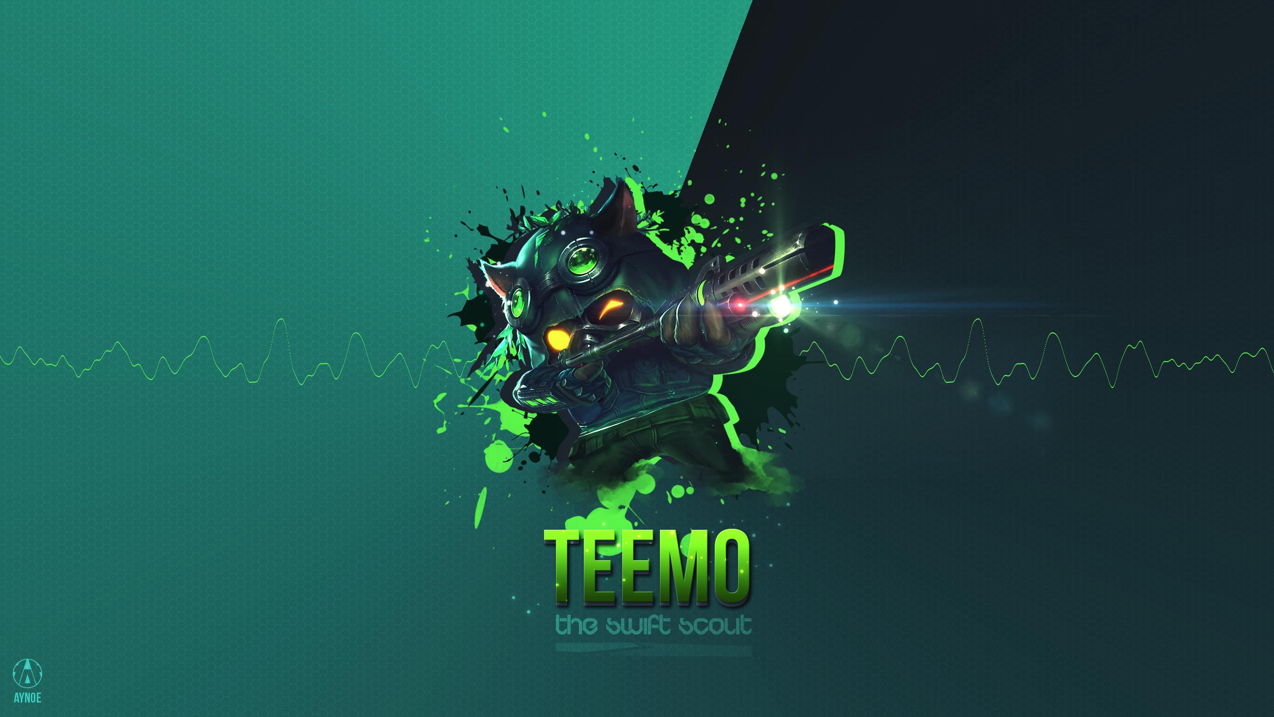 Omega Squad Teemo wallpaper