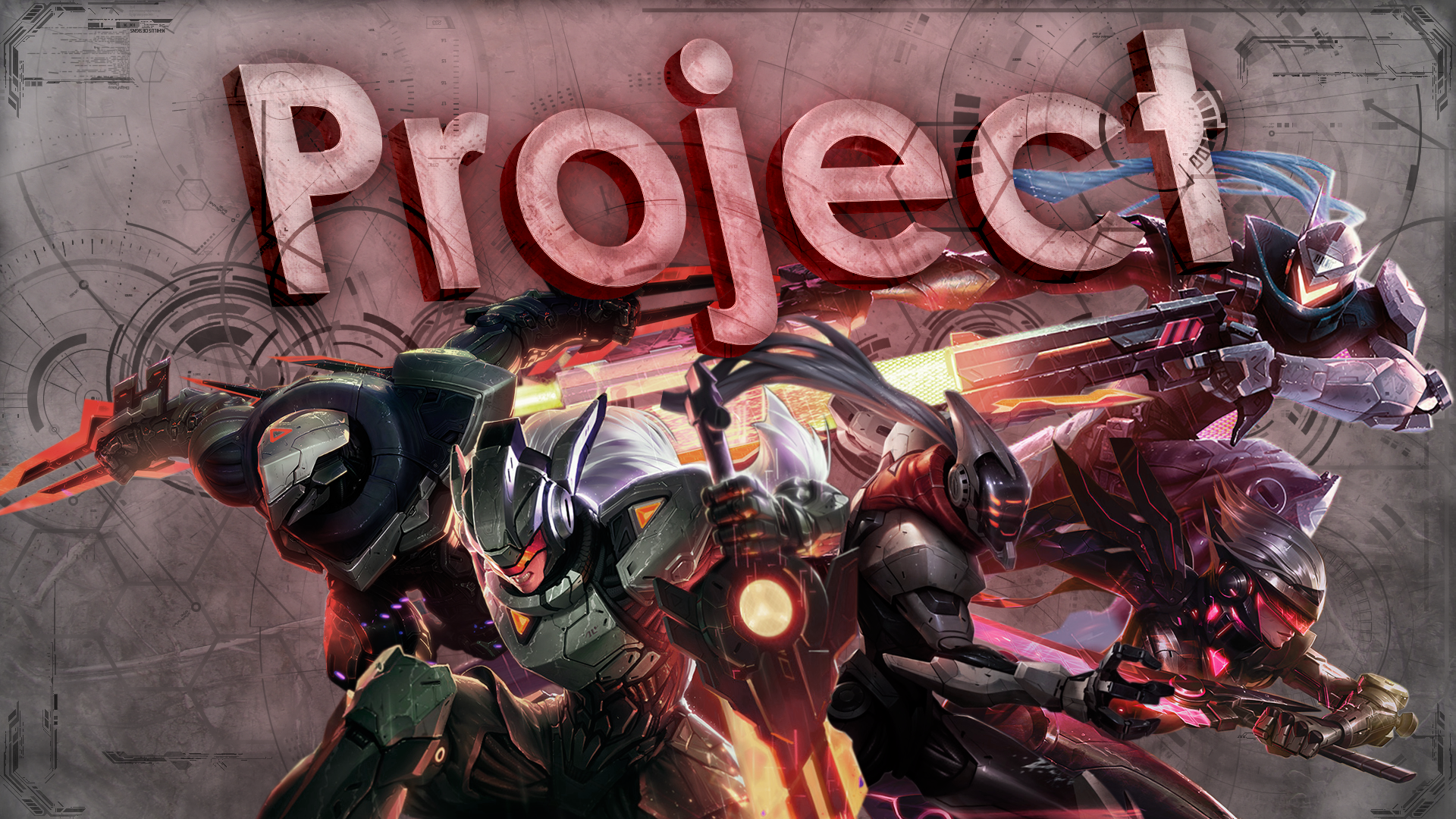 Project Skins wallpaper