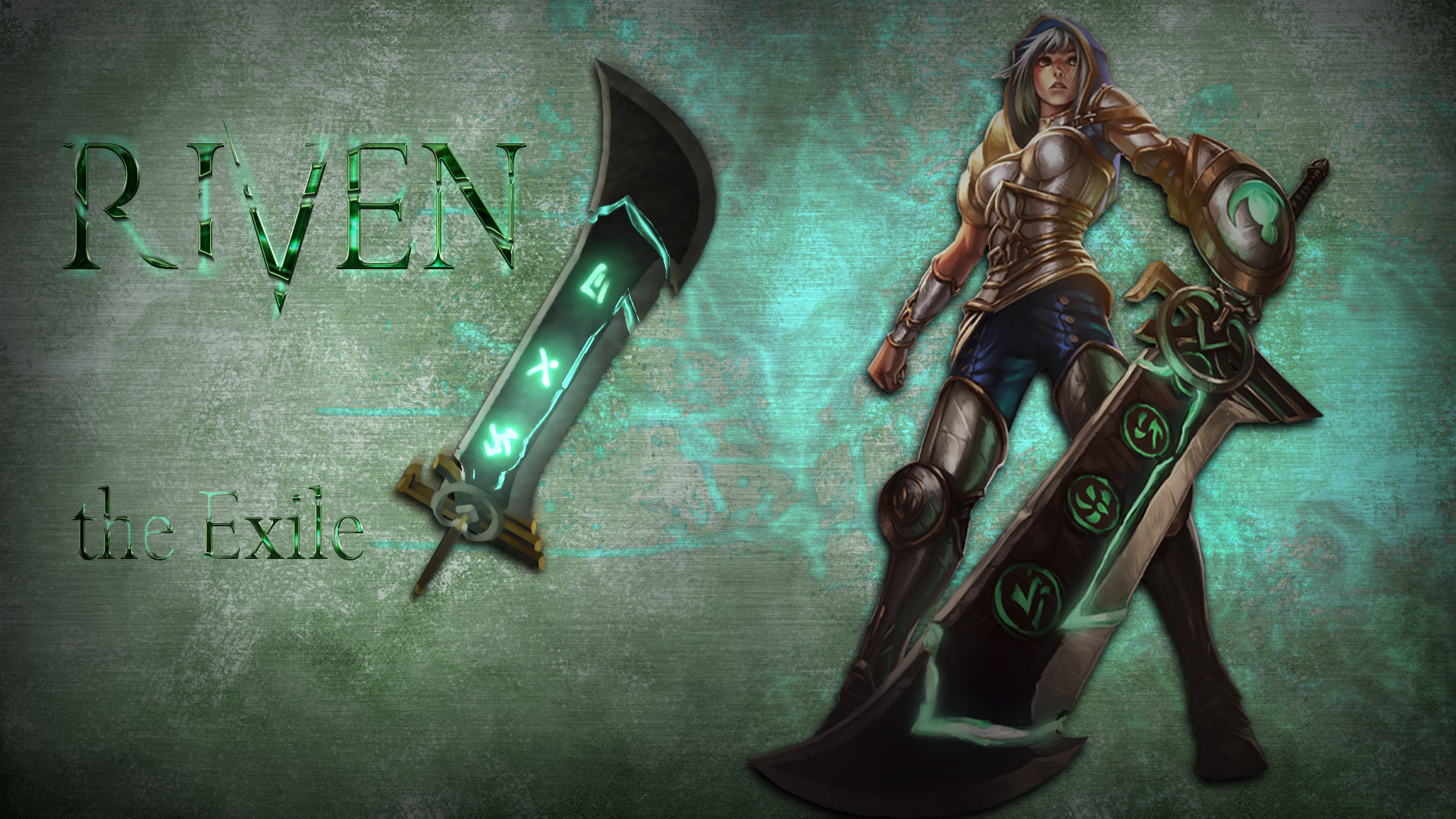 Redeemed Riven | LoLWallpapers