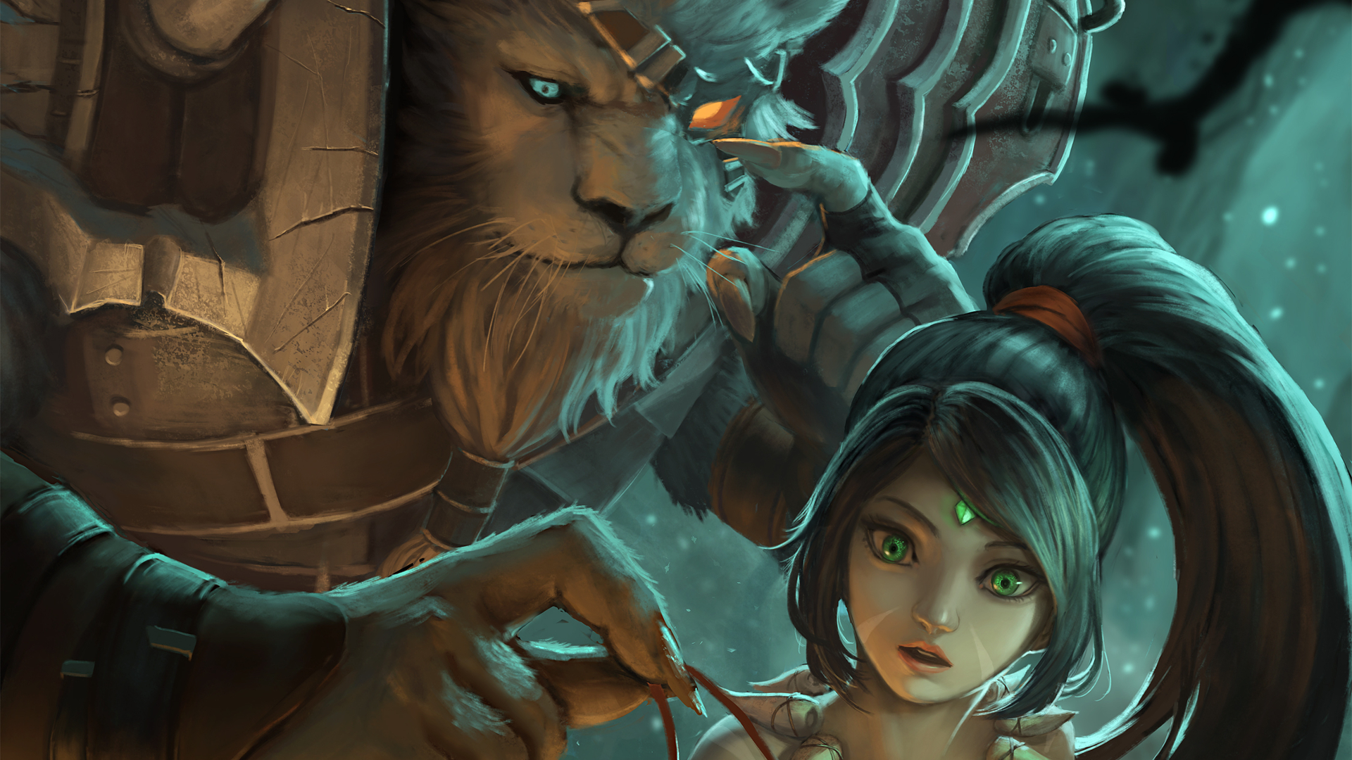 Rengar & Nidalee wallpaper