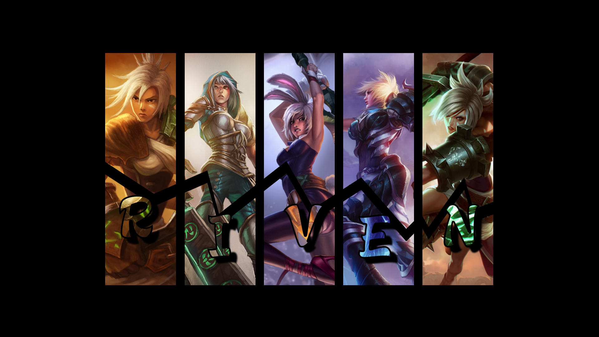 Riven Skins wallpaper