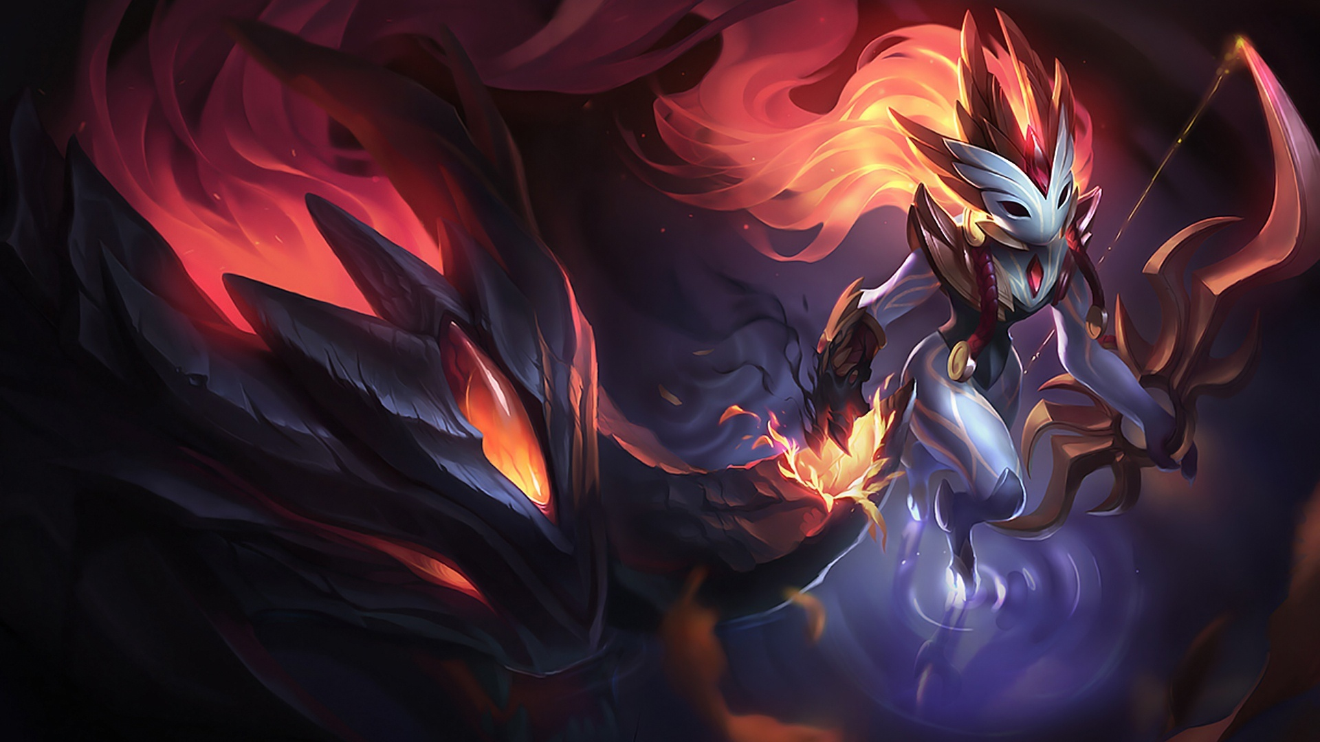 Shadowfire Kindred Lolwallpapers
