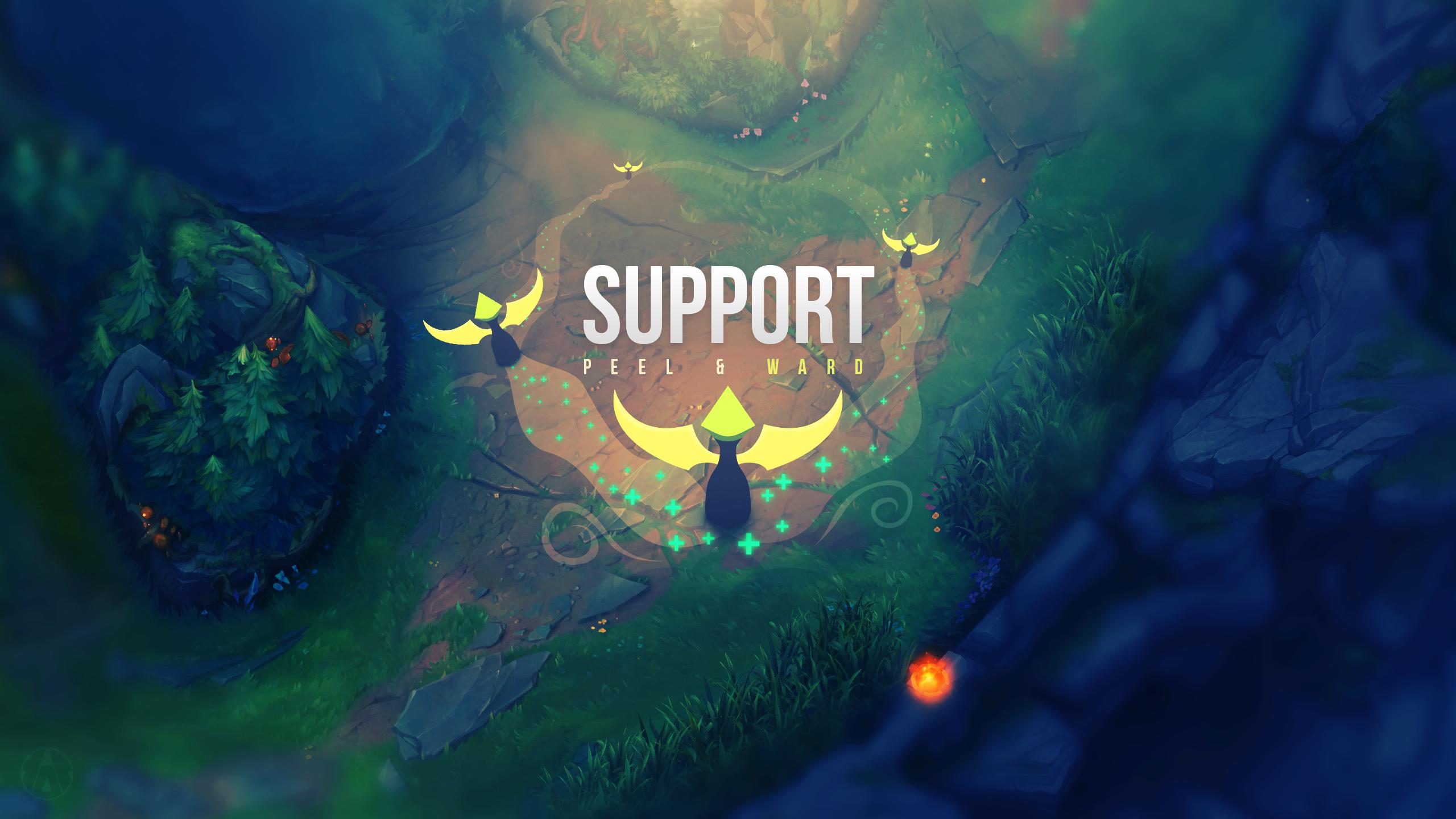 Support wallpaper