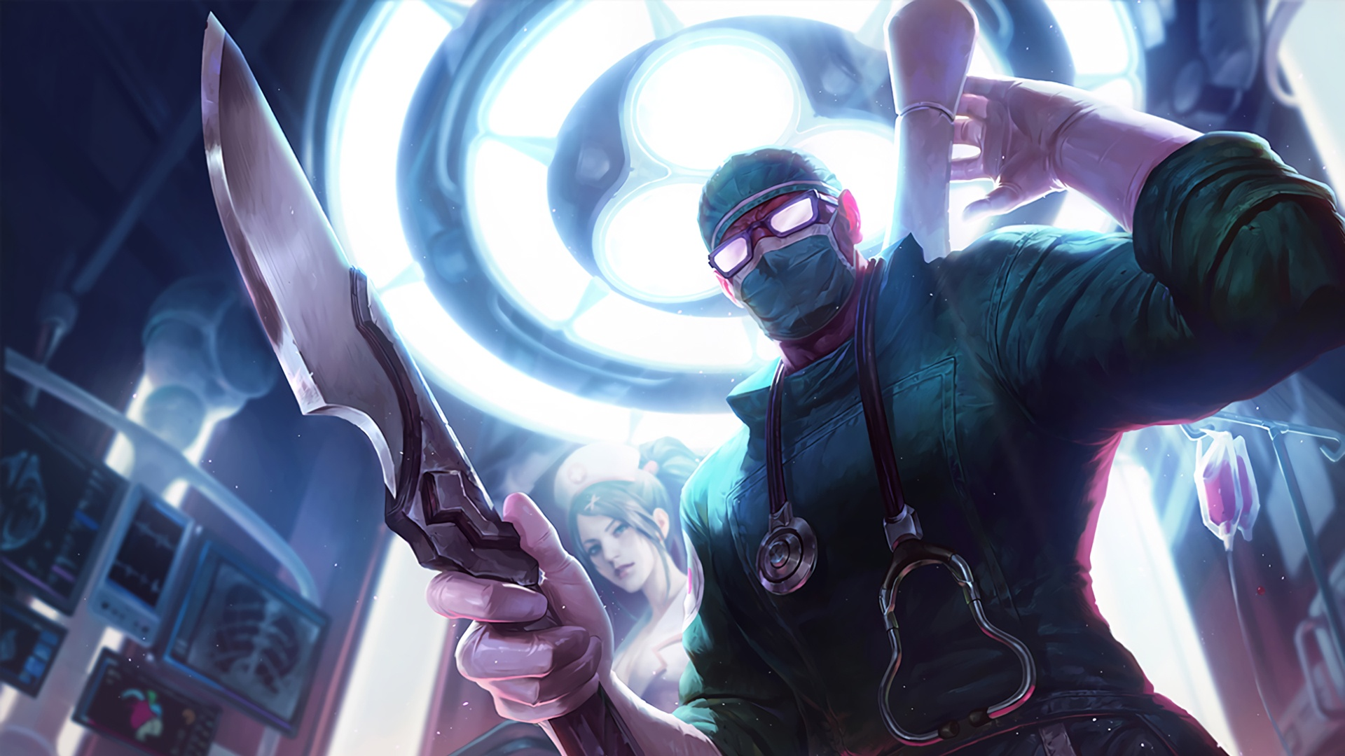 Surgeon Shen wallpaper