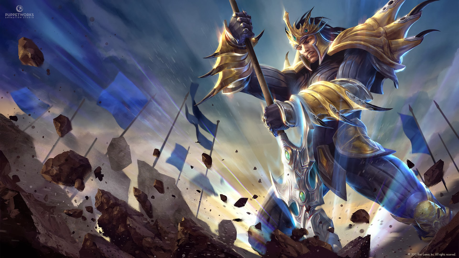 Jarvan IV wallpaper