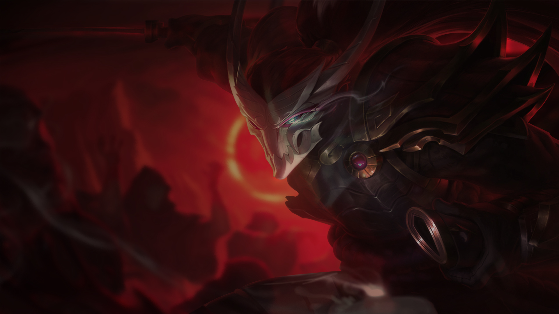 blood moon yasuo lolwallpapers