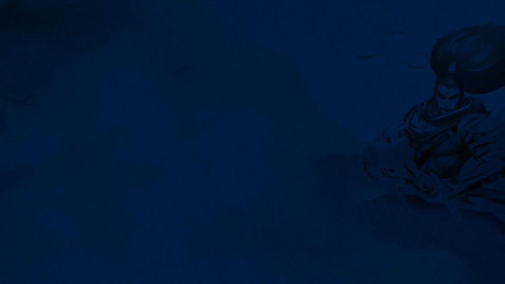 Yasuo Blue wallpaper