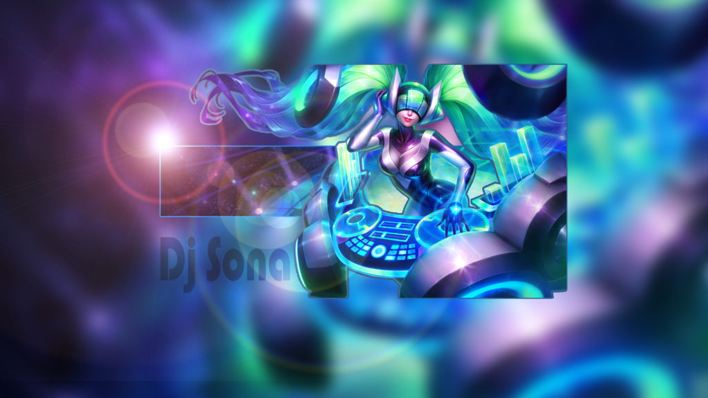 DJ Sona Kinetic wallpaper